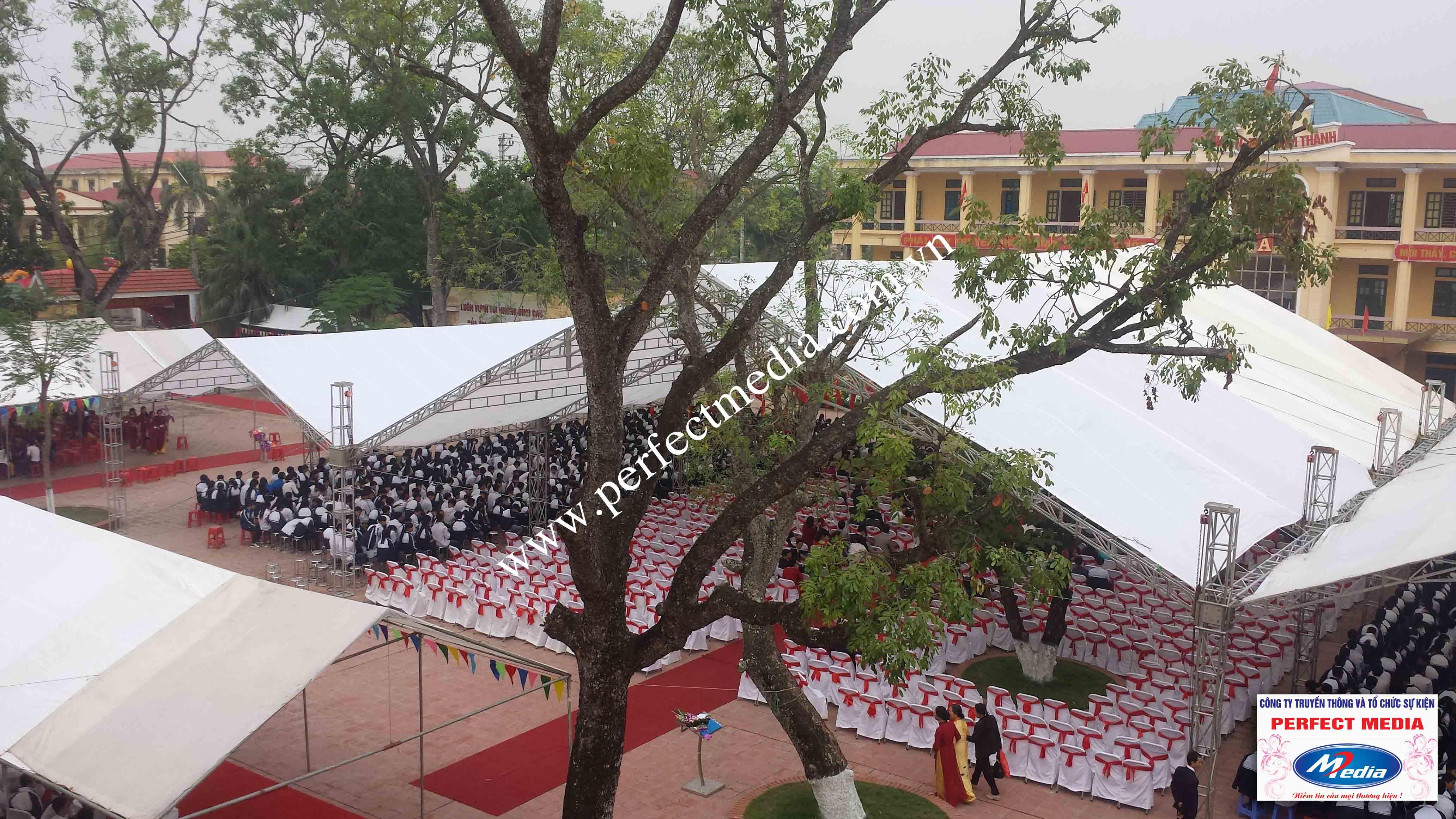 Hình ảnh buổi lễ Trường THPT Kim Thành được công nhận đạt chuẩn Quốc Gia 13