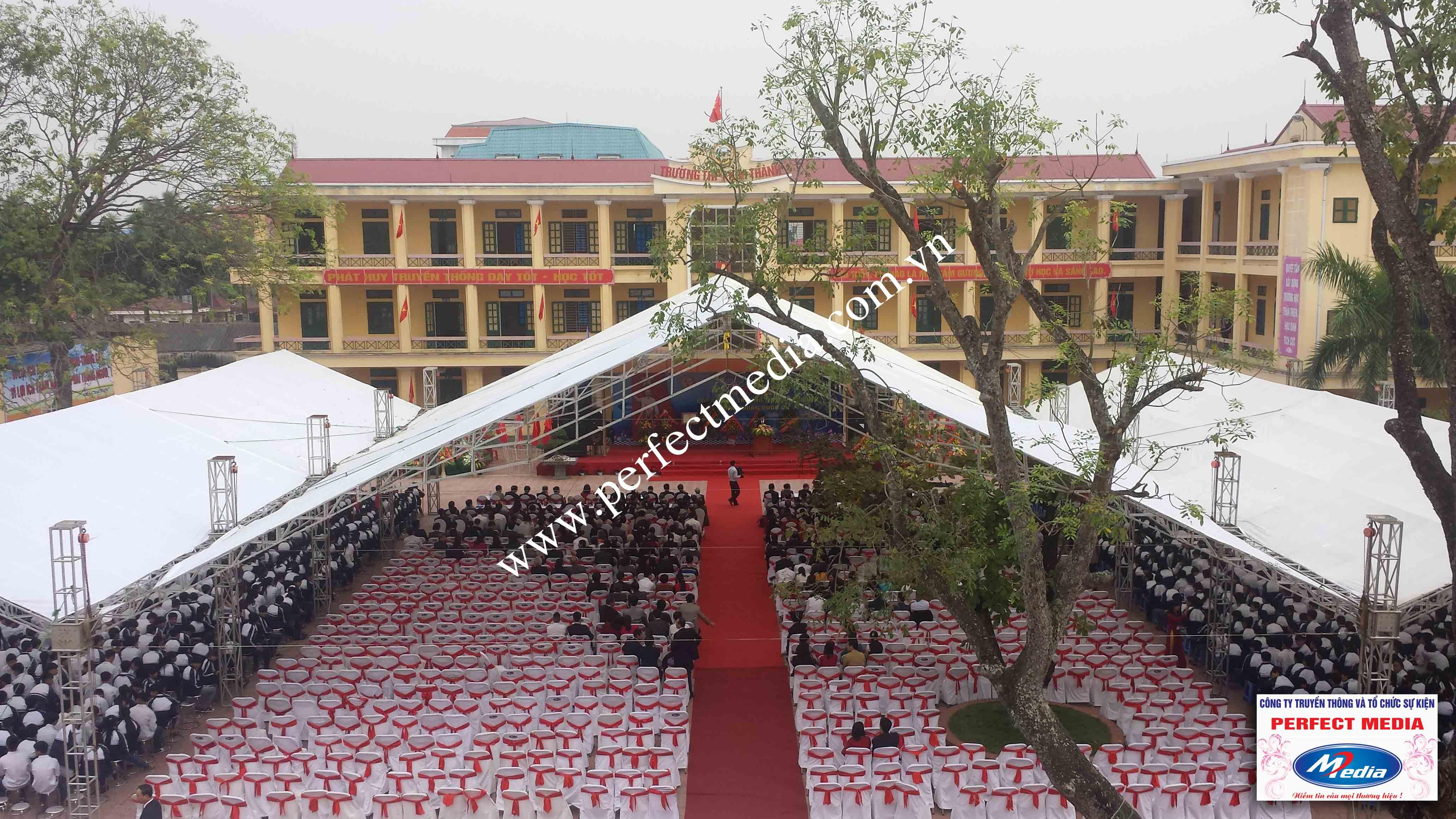 Hình ảnh buổi lễ Trường THPT Kim Thành được công nhận đạt chuẩn Quốc Gia 09