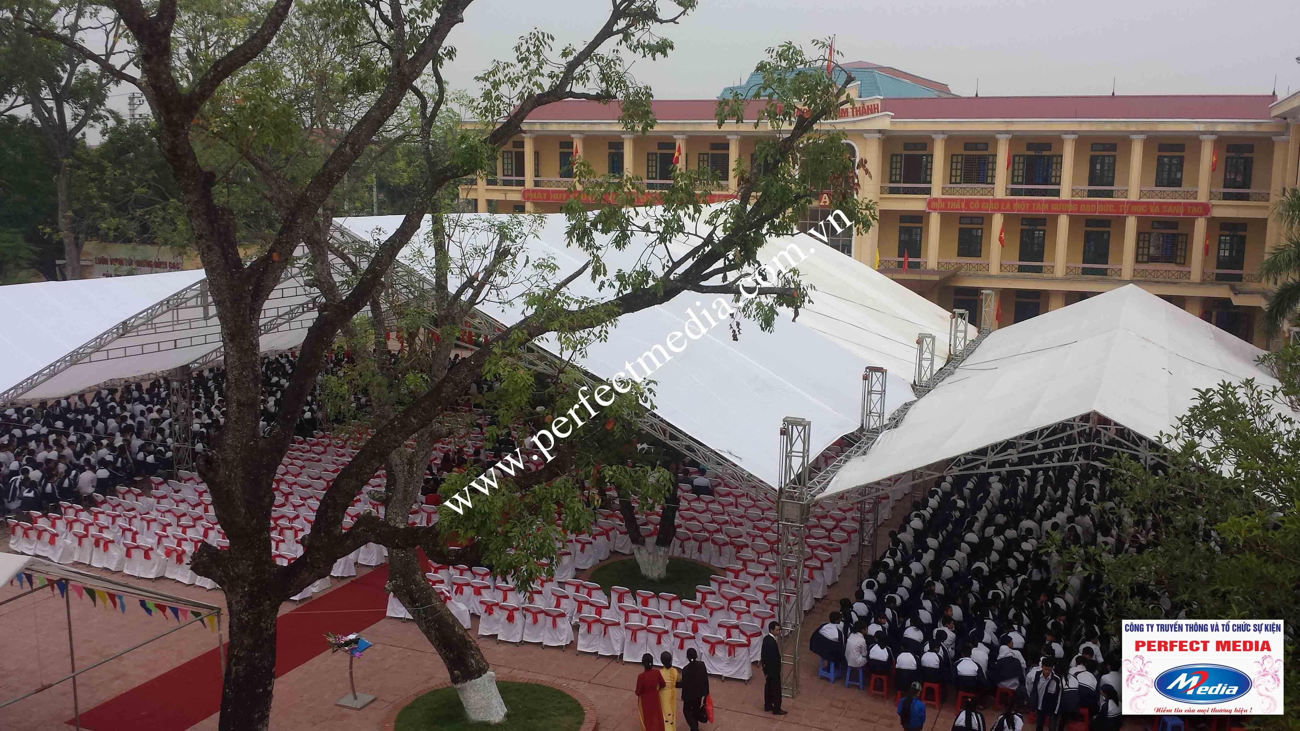 Hình ảnh buổi lễ Trường THPT Kim Thành được công nhận đạt chuẩn Quốc Gia 02