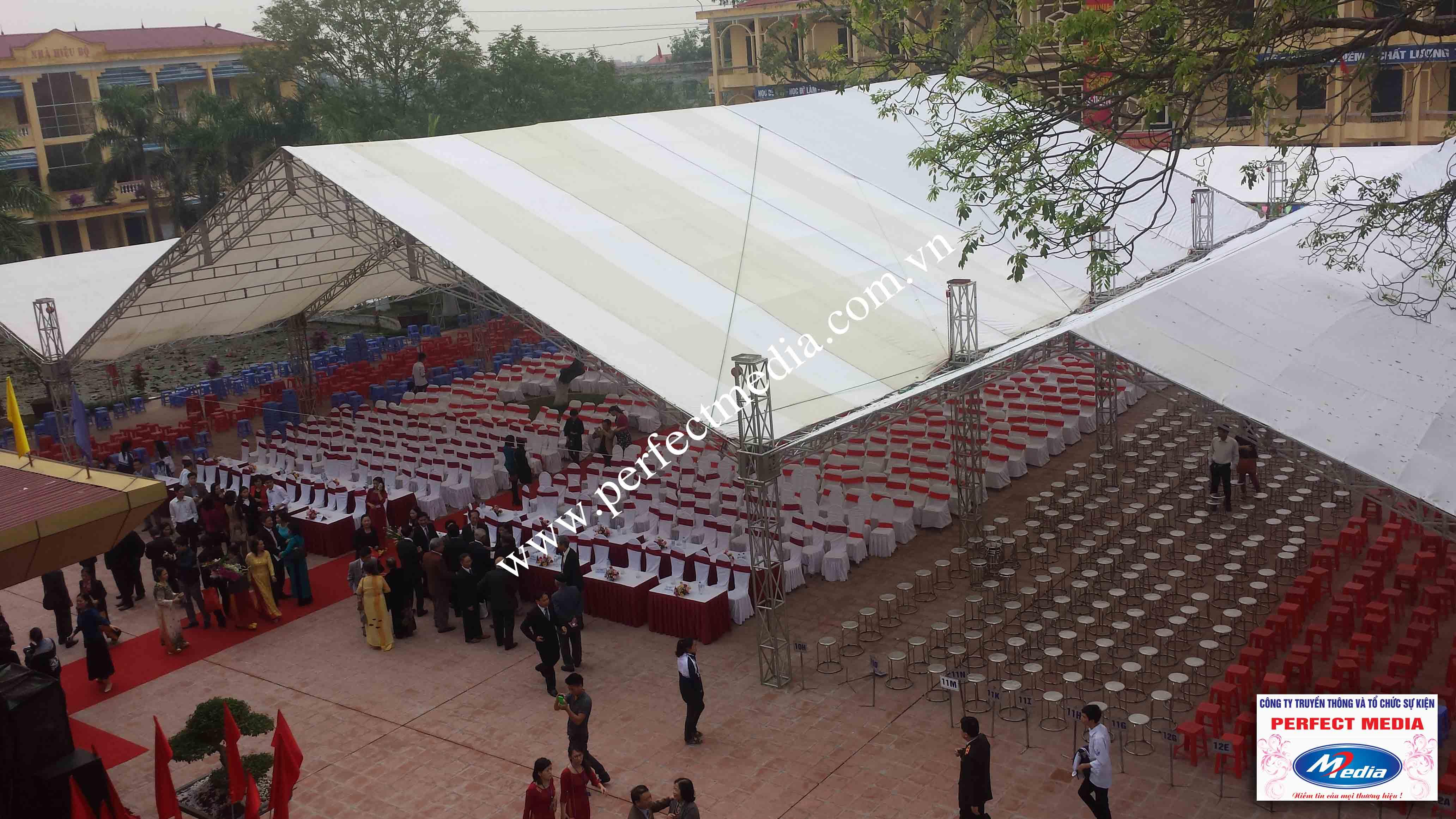 Hình ảnh buổi lễ Trường THPT Kim Thành được công nhận đạt chuẩn Quốc Gia 07