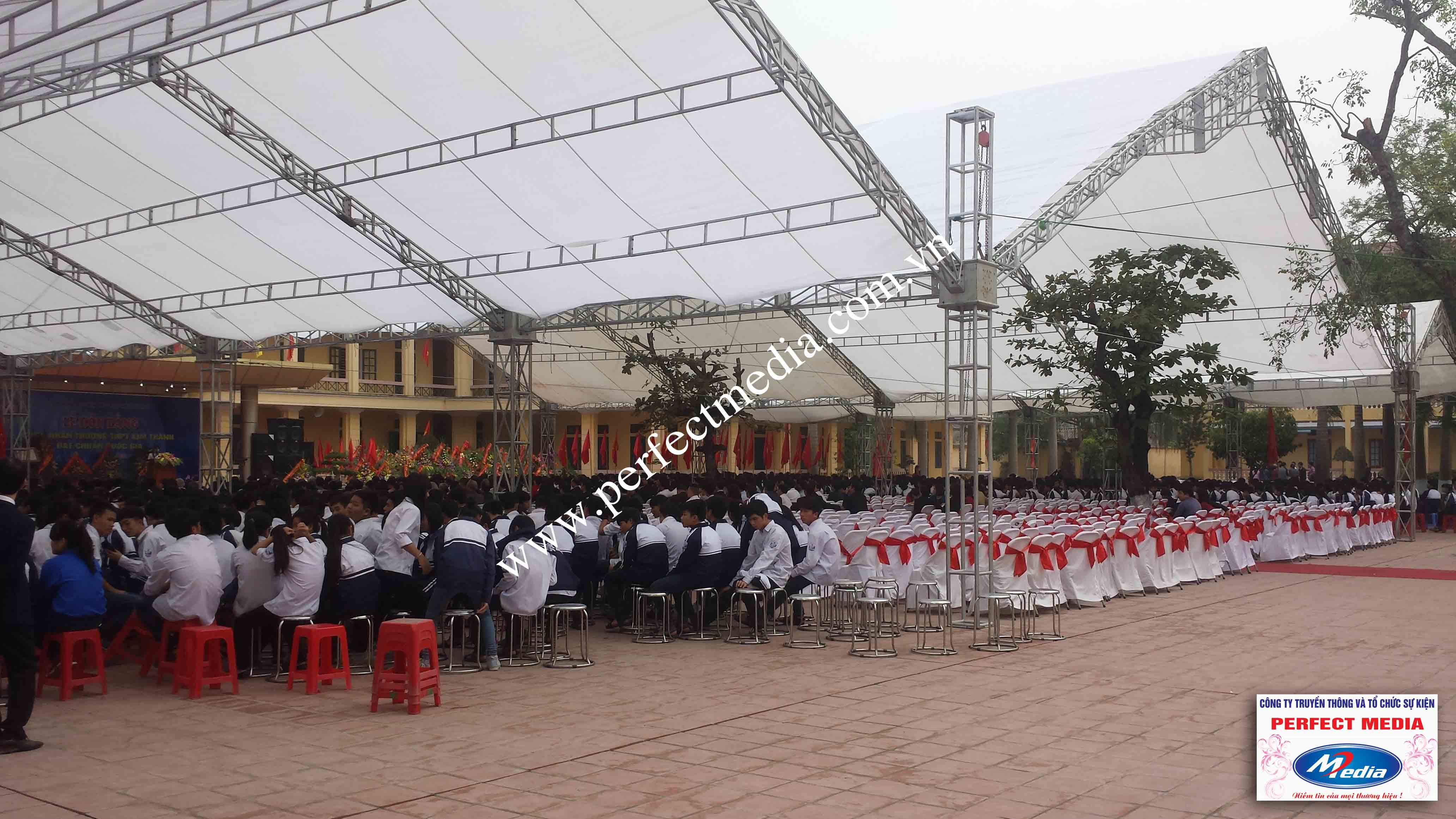 Hình ảnh buổi lễ Trường THPT Kim Thành được công nhận đạt chuẩn Quốc Gia 06