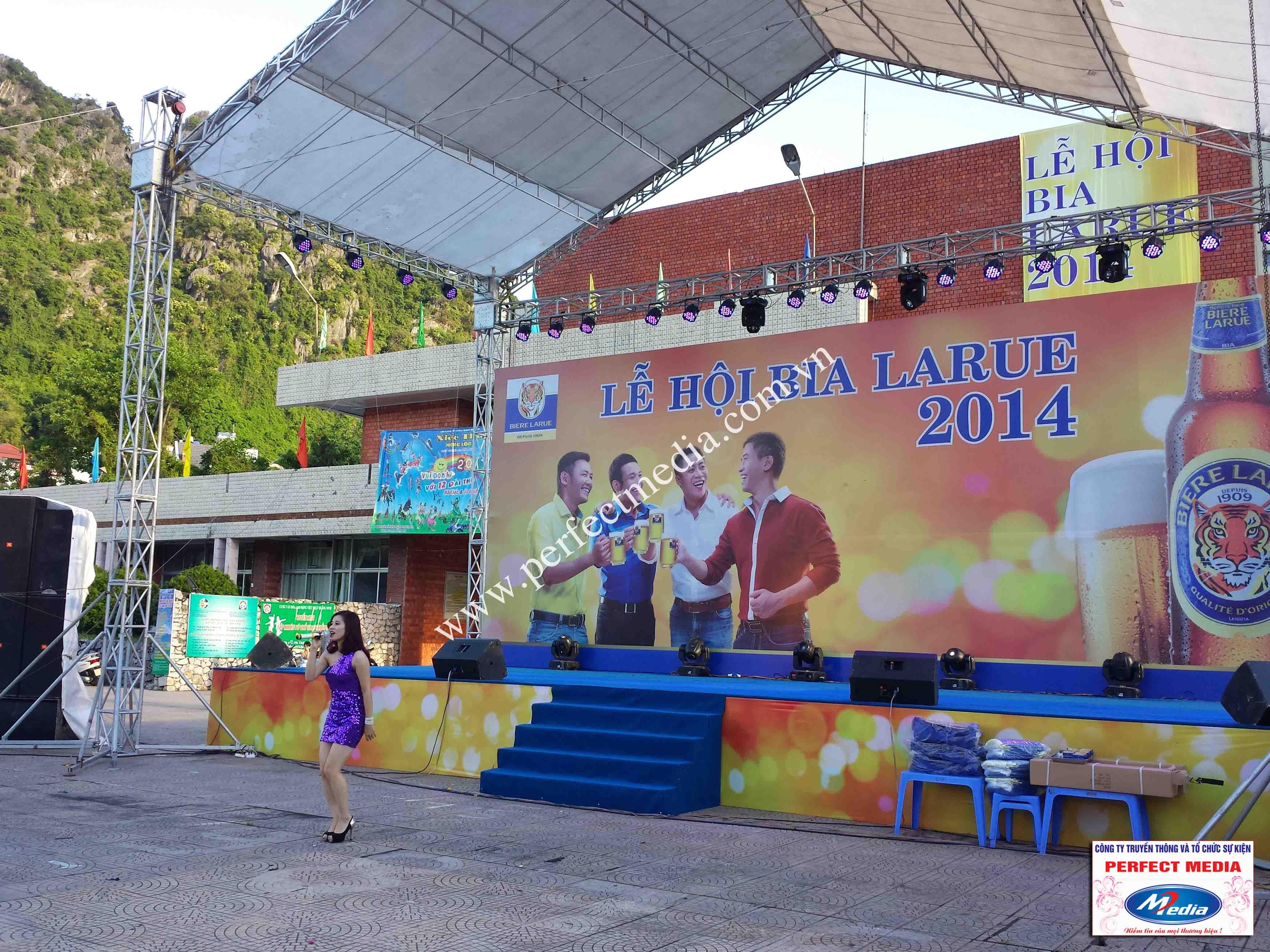 Hình ảnh Perfect Media đã thực hiện Tour Festival Bia Larue 03