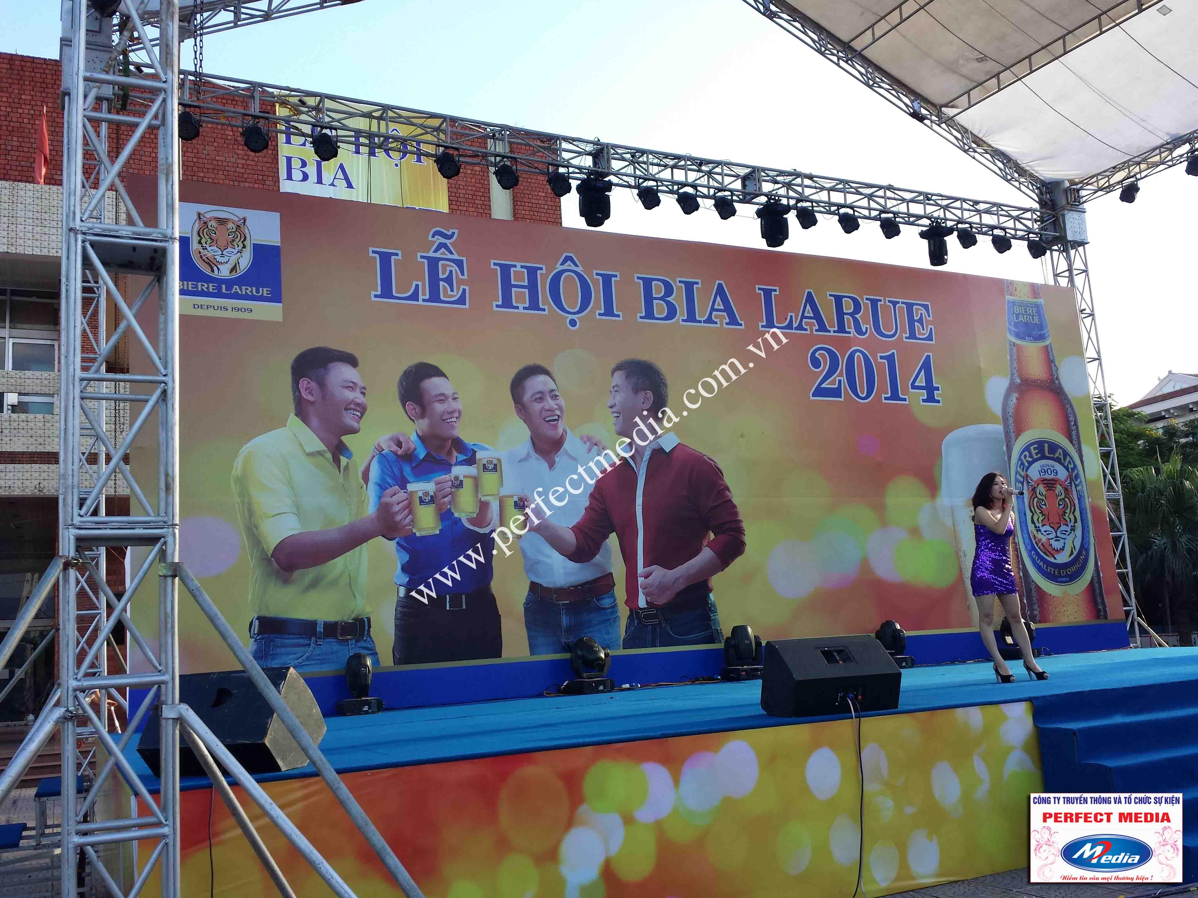 Hình ảnh Perfect Media đã thực hiện Tour Festival Bia Larue 02