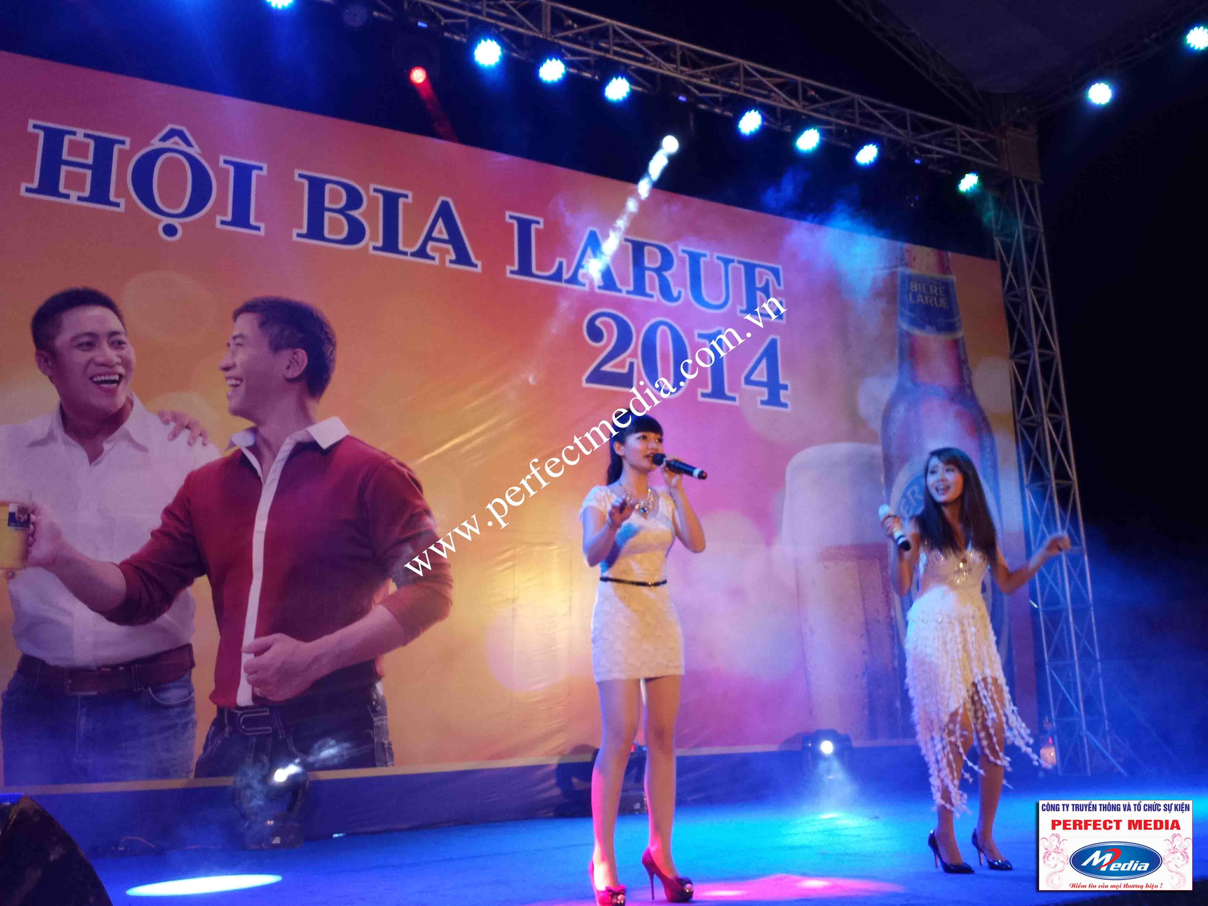Hình ảnh Perfect Media đã thực hiện Tour Festival Bia Larue 14