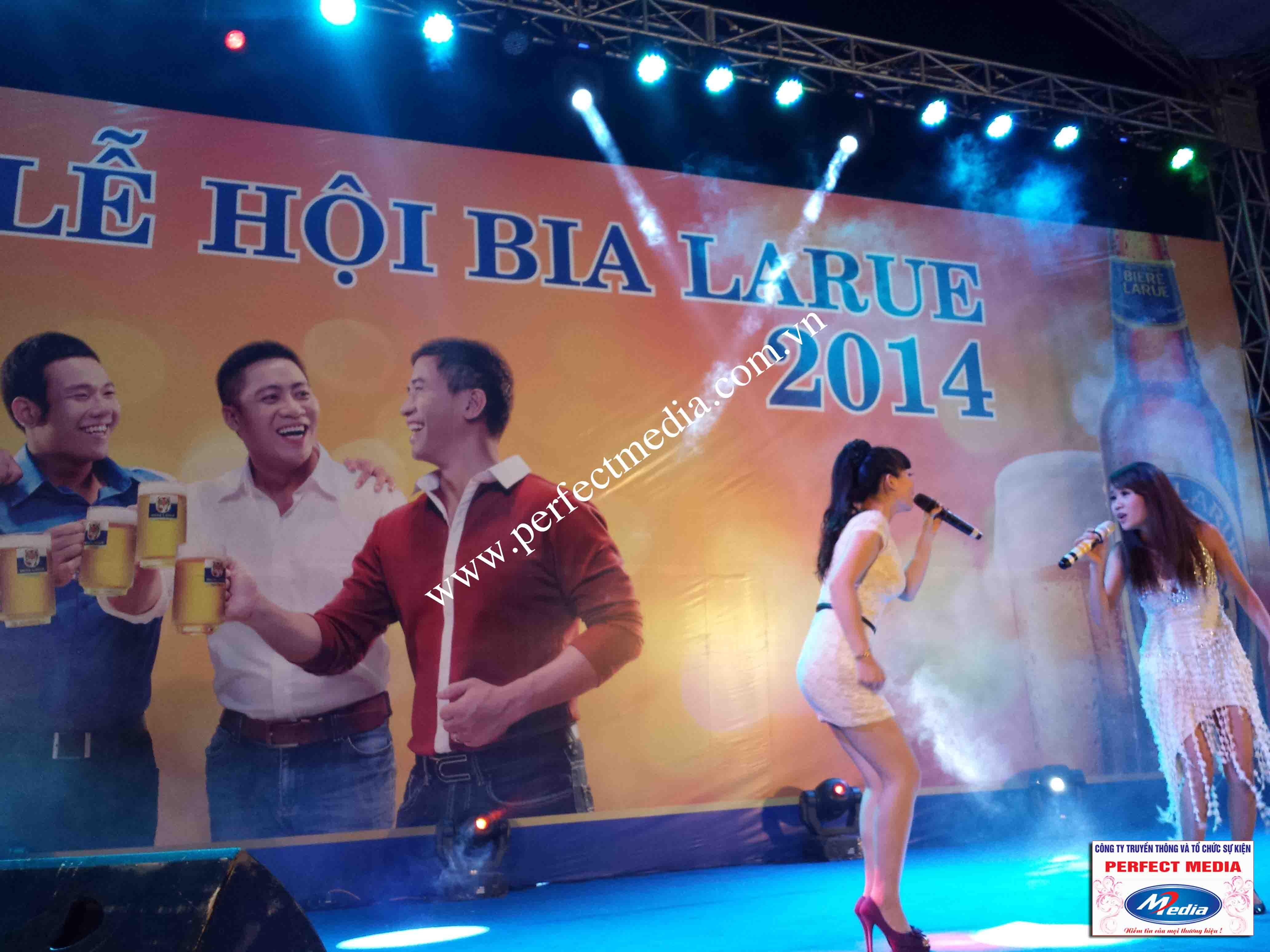 Hình ảnh Perfect Media đã thực hiện Tour Festival Bia Larue 15