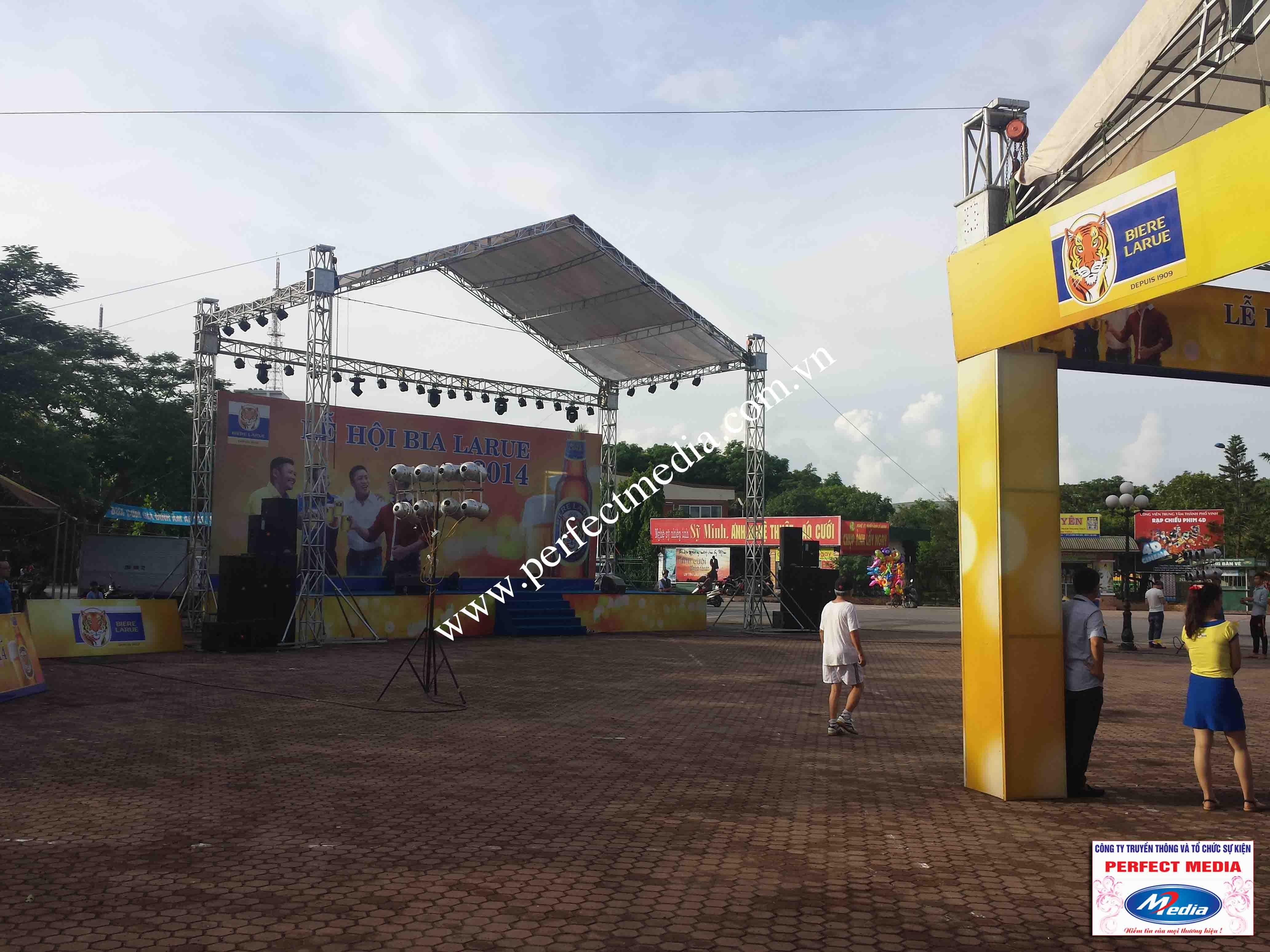 Hình ảnh Perfect Media đã thực hiện Tour Festival Bia Larue 05