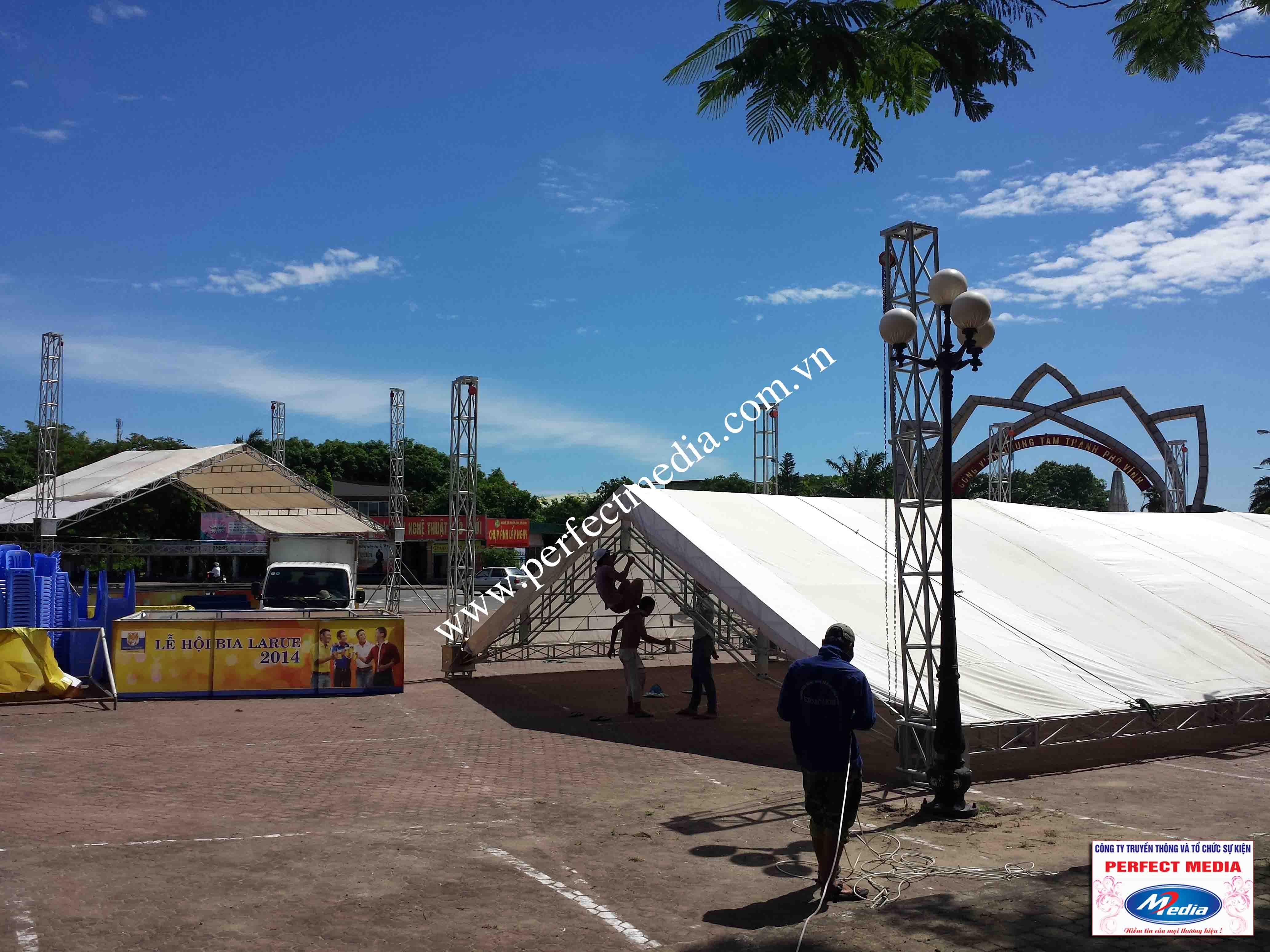 Hình ảnh Perfect Media đã thực hiện Tour Festival Bia Larue 04