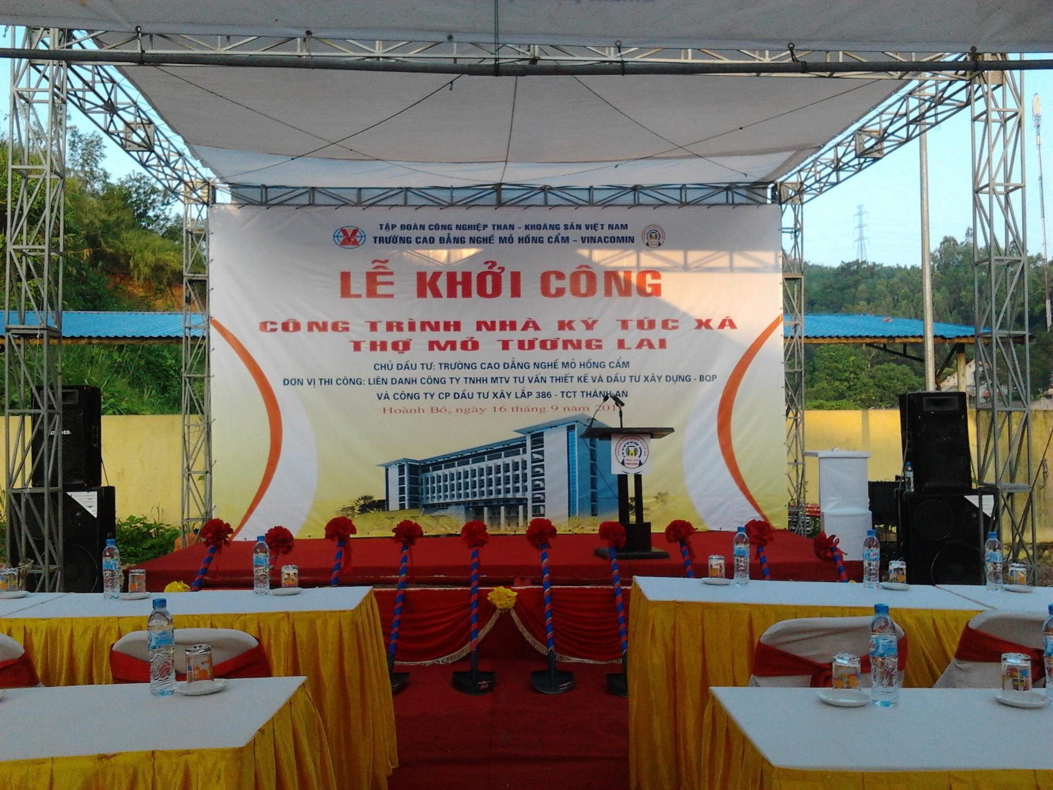 Perfect Media tổ chức sự kiện lễ khởi công tại Quảng Ninh