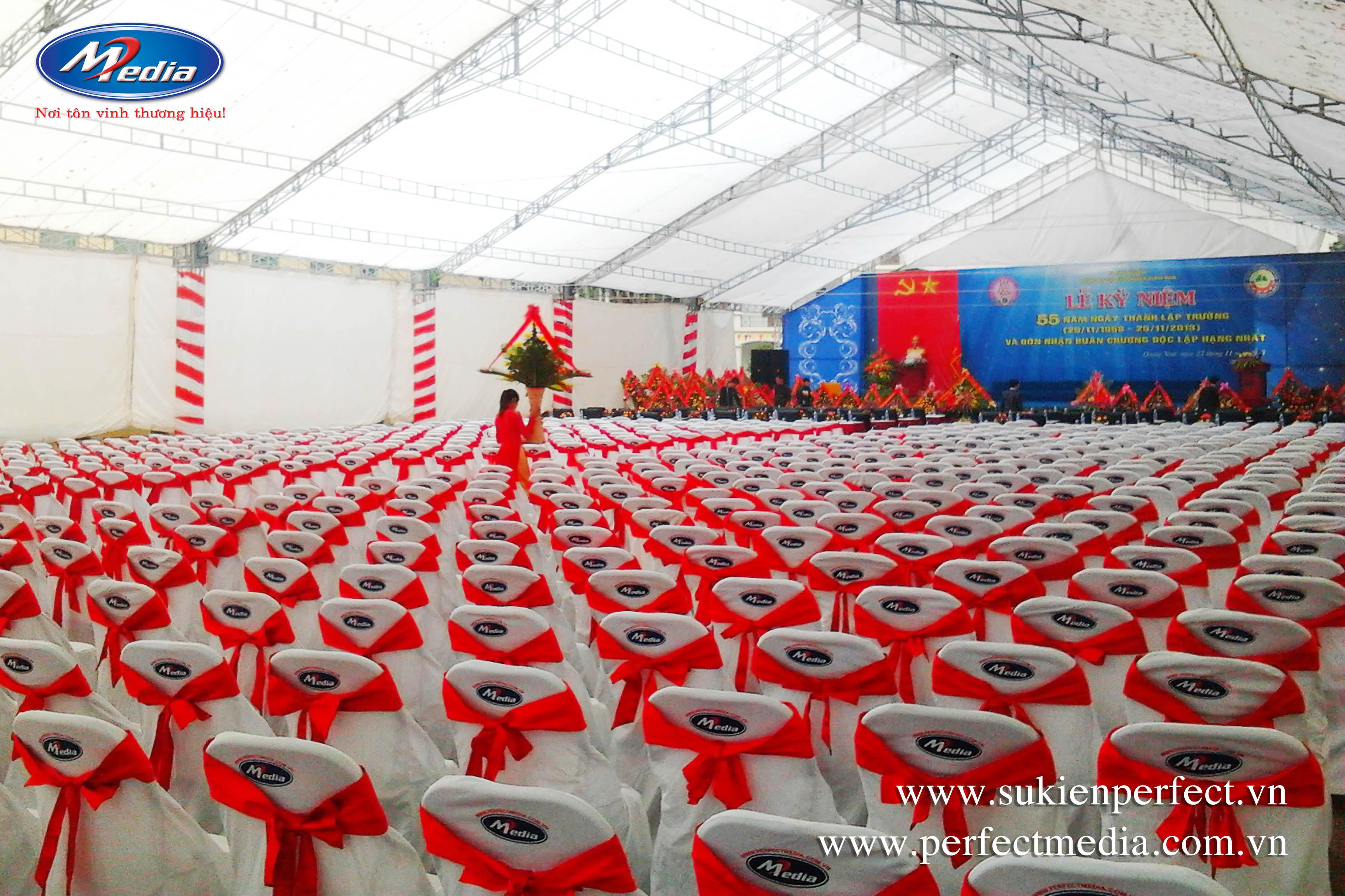 Lễ kỷ niệm 55 thành lập Trường Đại Học Công Nghiệp Quảng Ninh, 23/11/2013