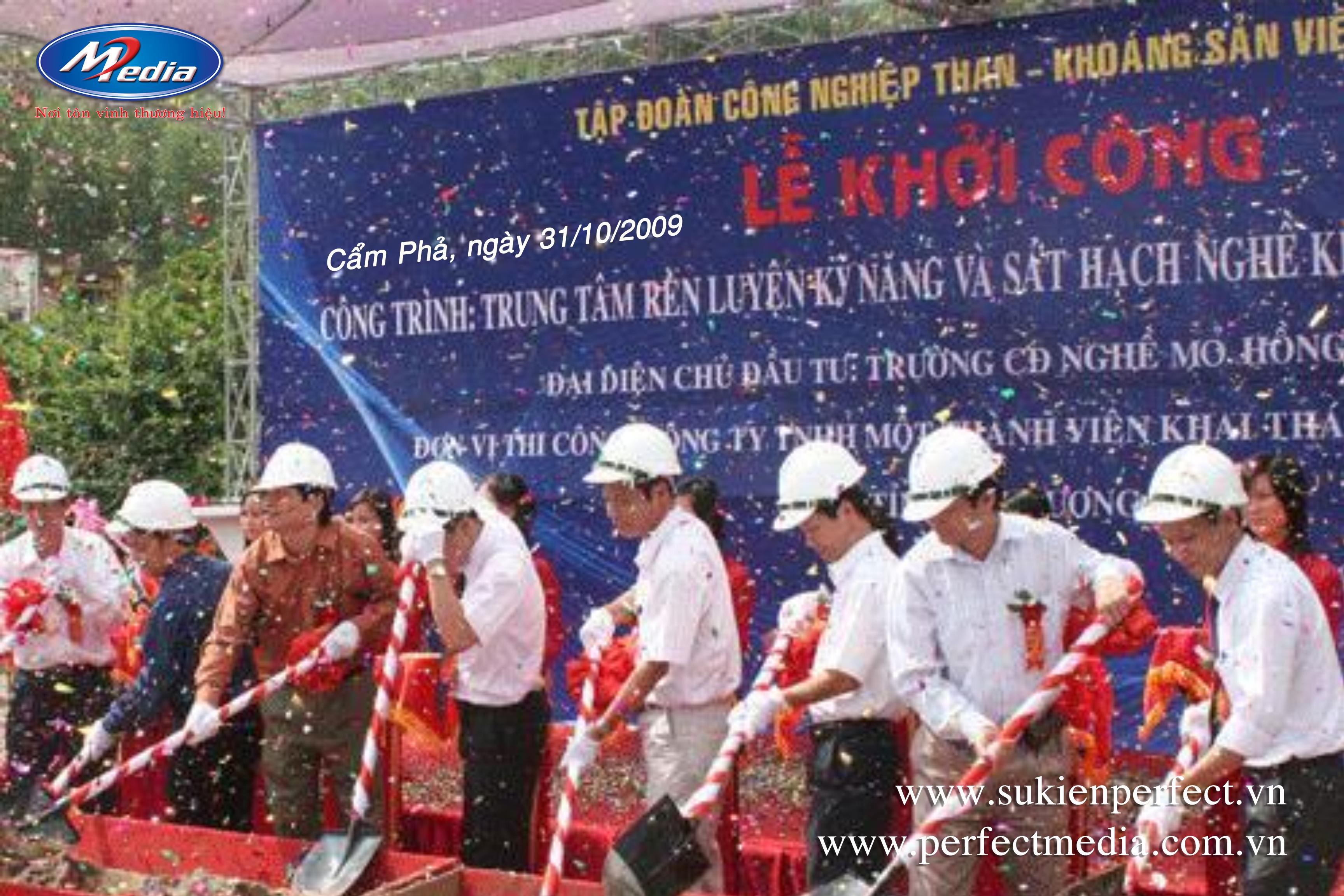 Perfect Media lần đầu tiên tổ chức sự kiện tại Quảng Ninh vào ngày 31 tháng 10 năm 2009