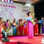 Miss áo dài Big C Việt Nam tại Hải Dương