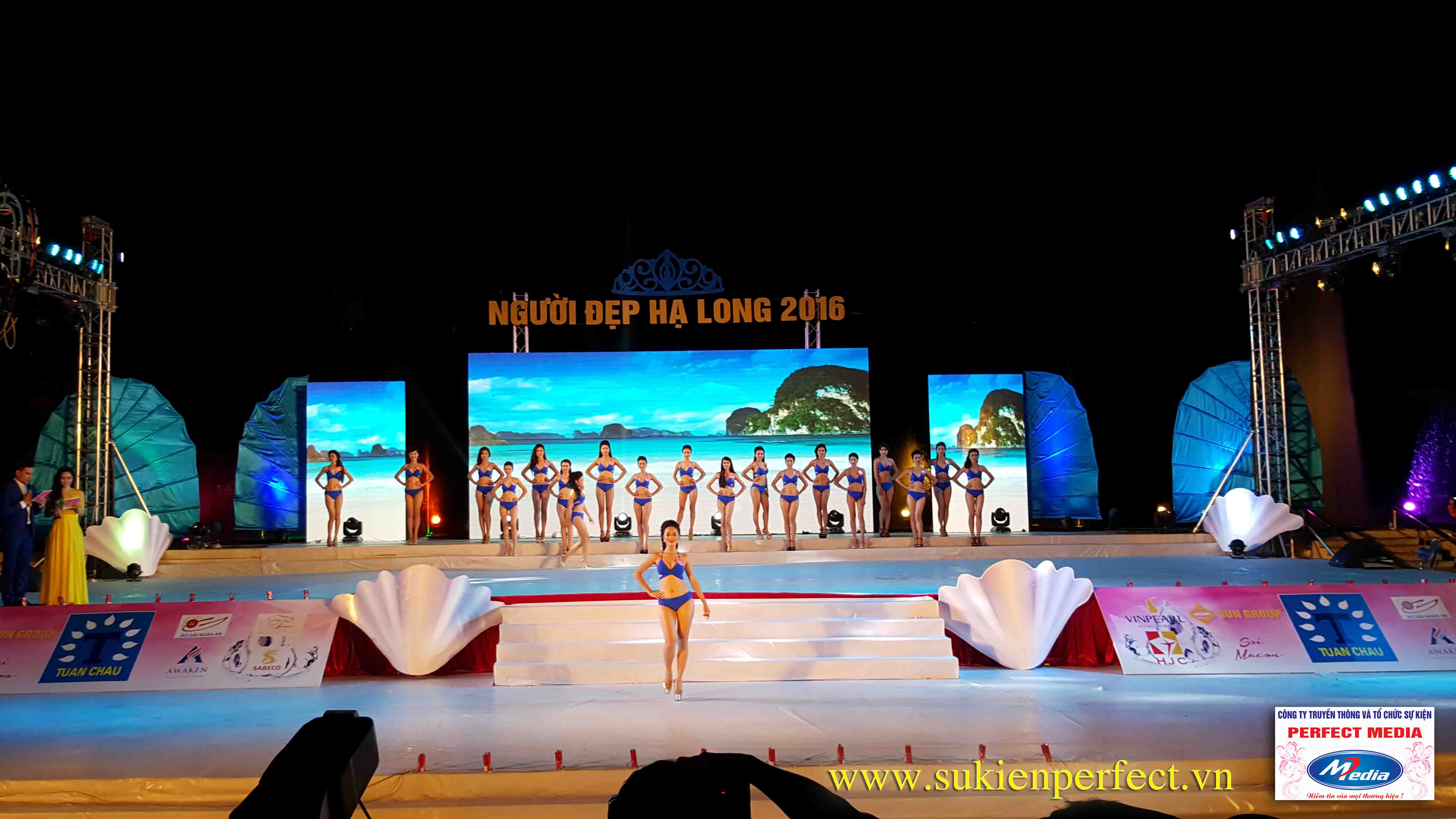 Hình ảnh các người đẹp trong chương trình Người đẹp Hạ Long 2016 – Bikini 02