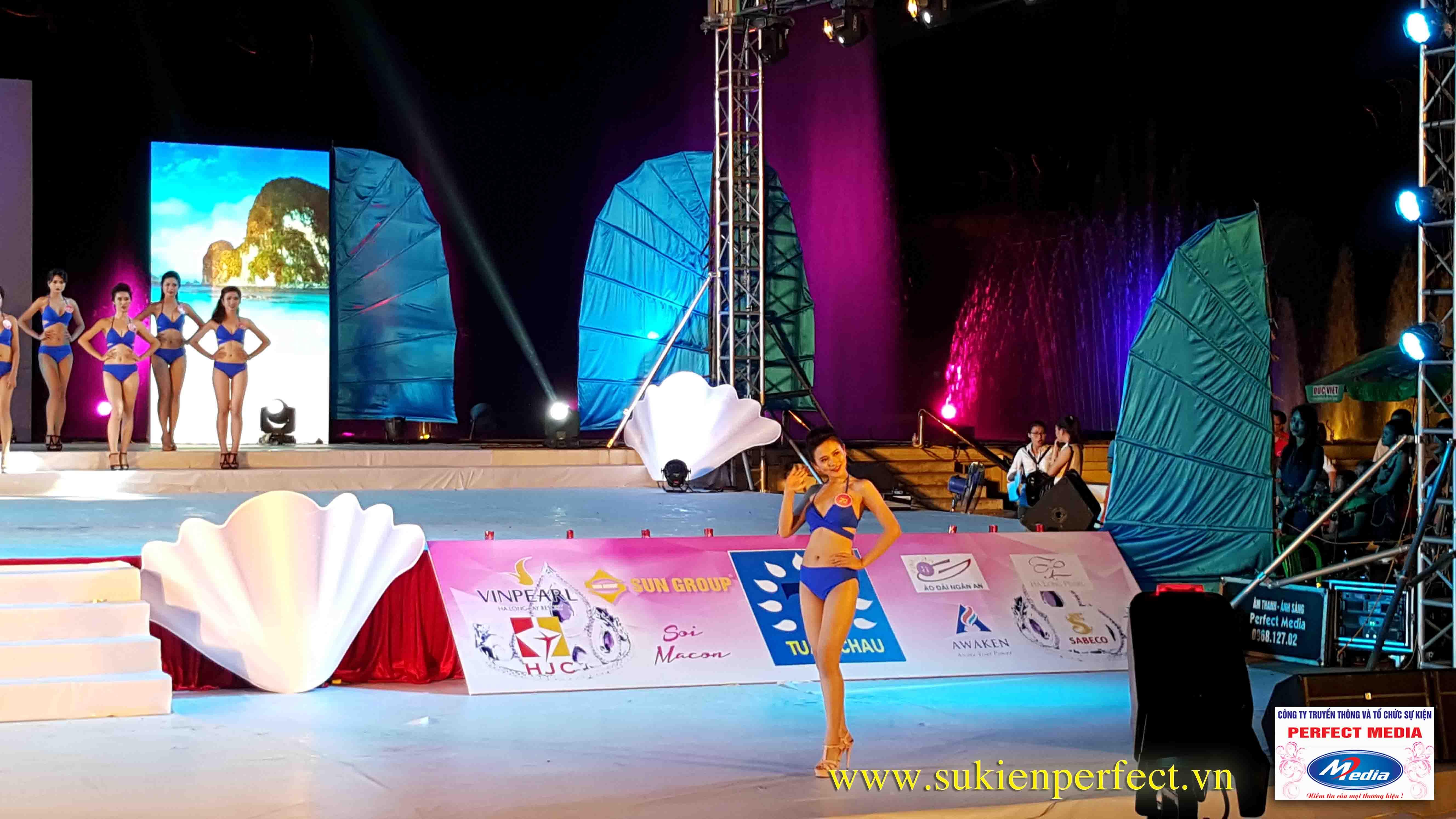 Hình ảnh các người đẹp trong chương trình Người đẹp Hạ Long 2016 – Bikini 05