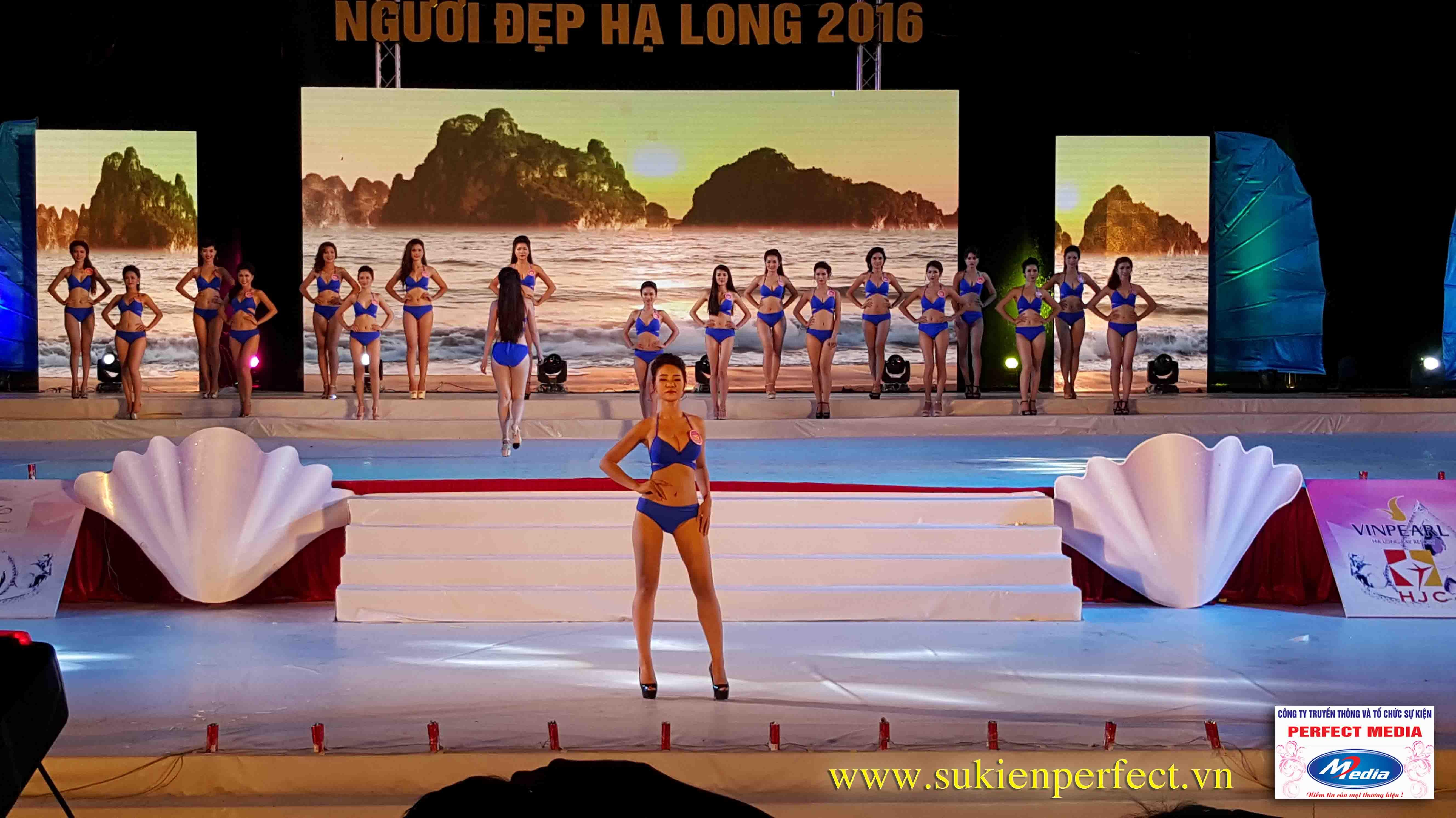 Hình ảnh các người đẹp trong chương trình Người đẹp Hạ Long 2016 – Bikini 06