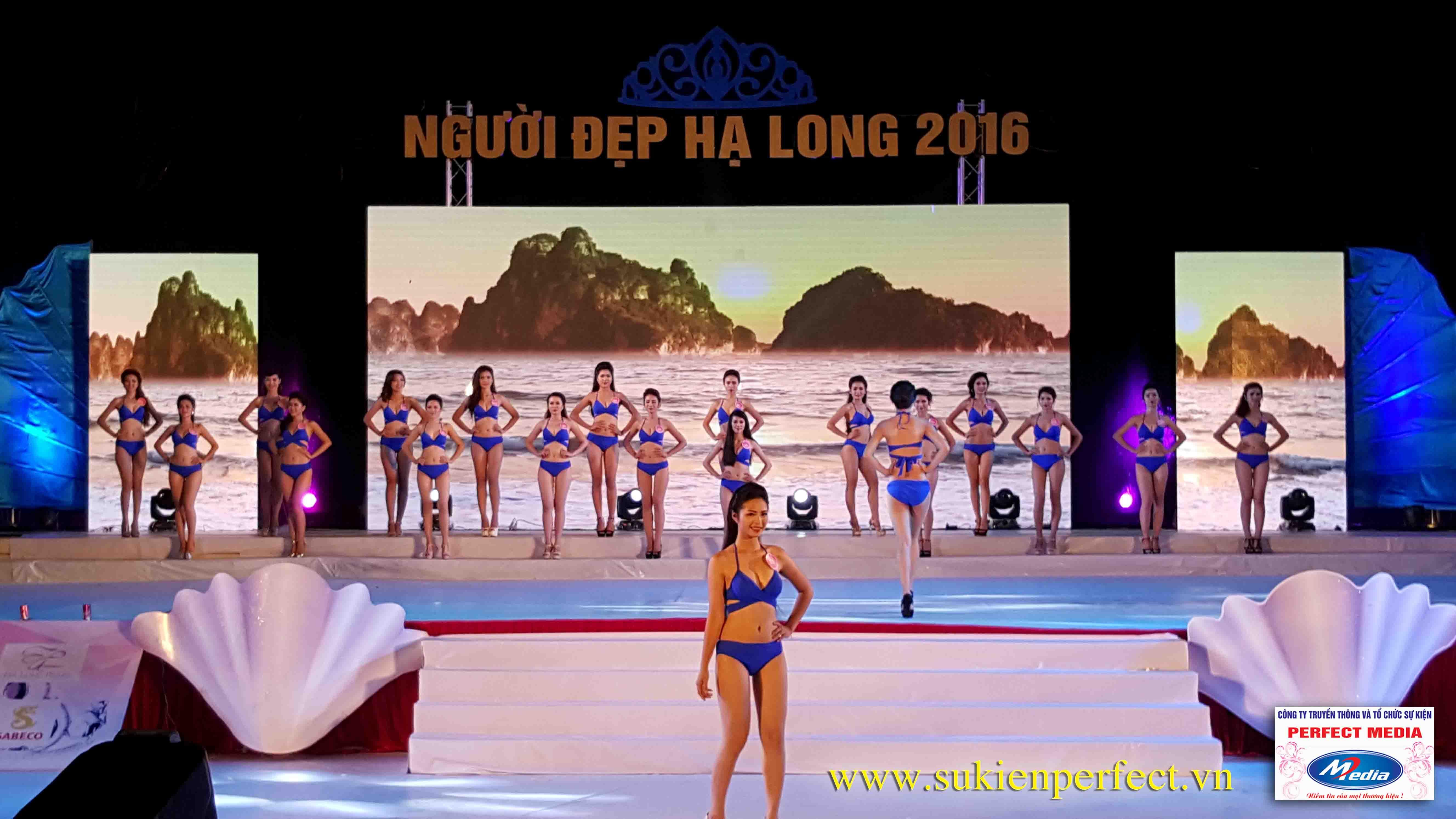 Hình ảnh các người đẹp trong chương trình Người đẹp Hạ Long 2016 – Bikini 08
