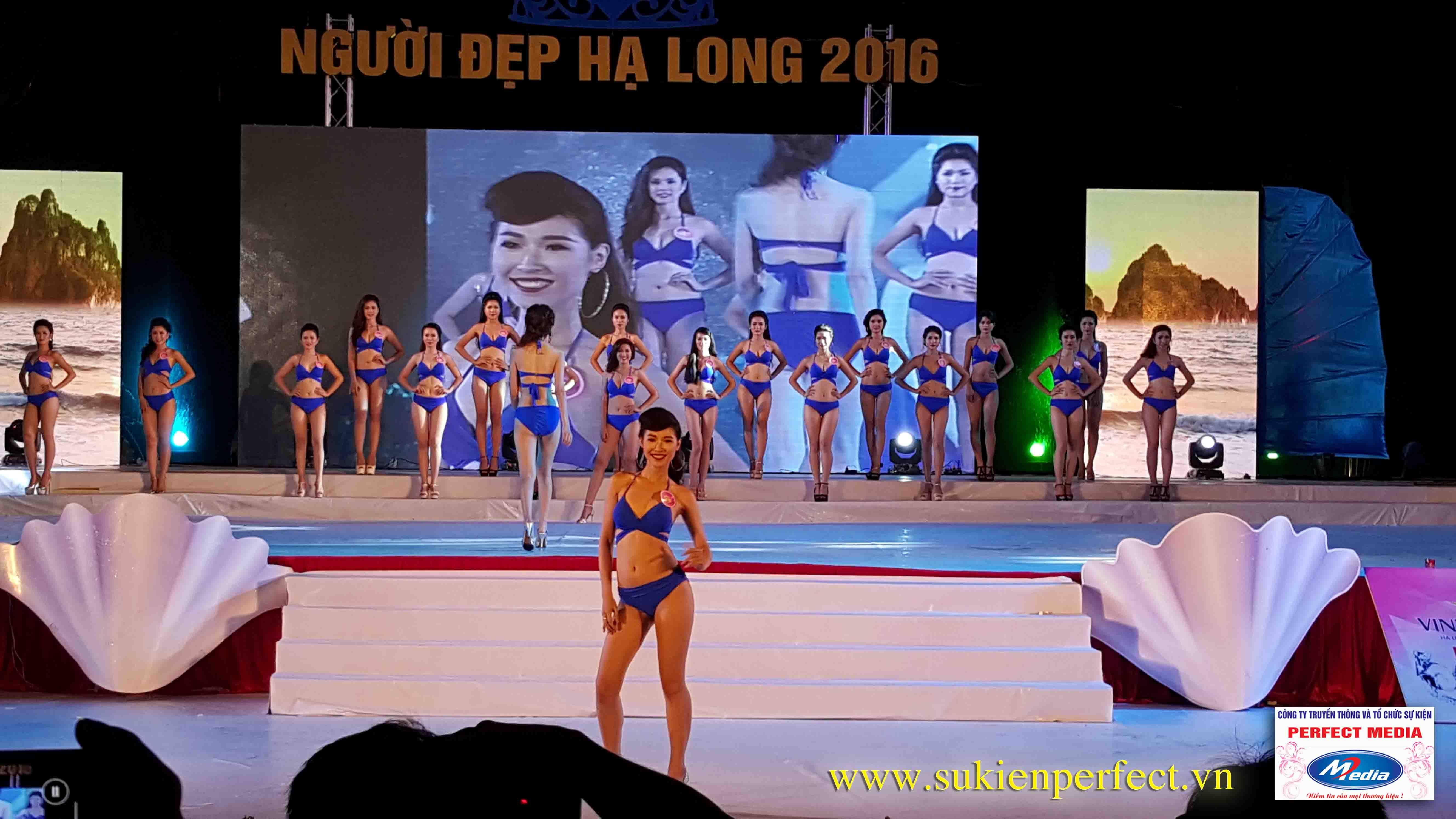Hình ảnh các người đẹp trong chương trình Người đẹp Hạ Long 2016 – Bikini 10