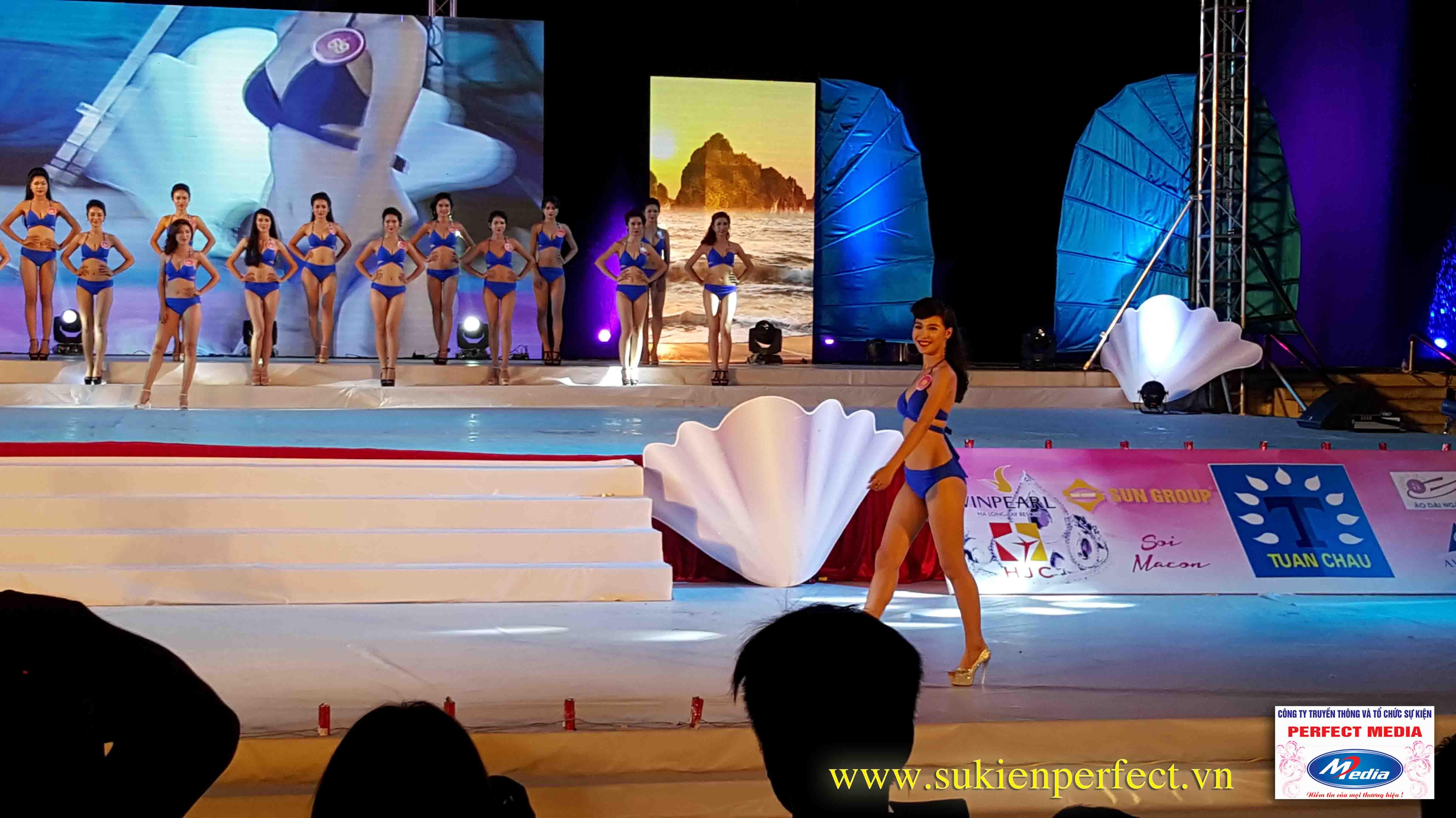 Hình ảnh các người đẹp trong chương trình Người đẹp Hạ Long 2016 – Bikini 11