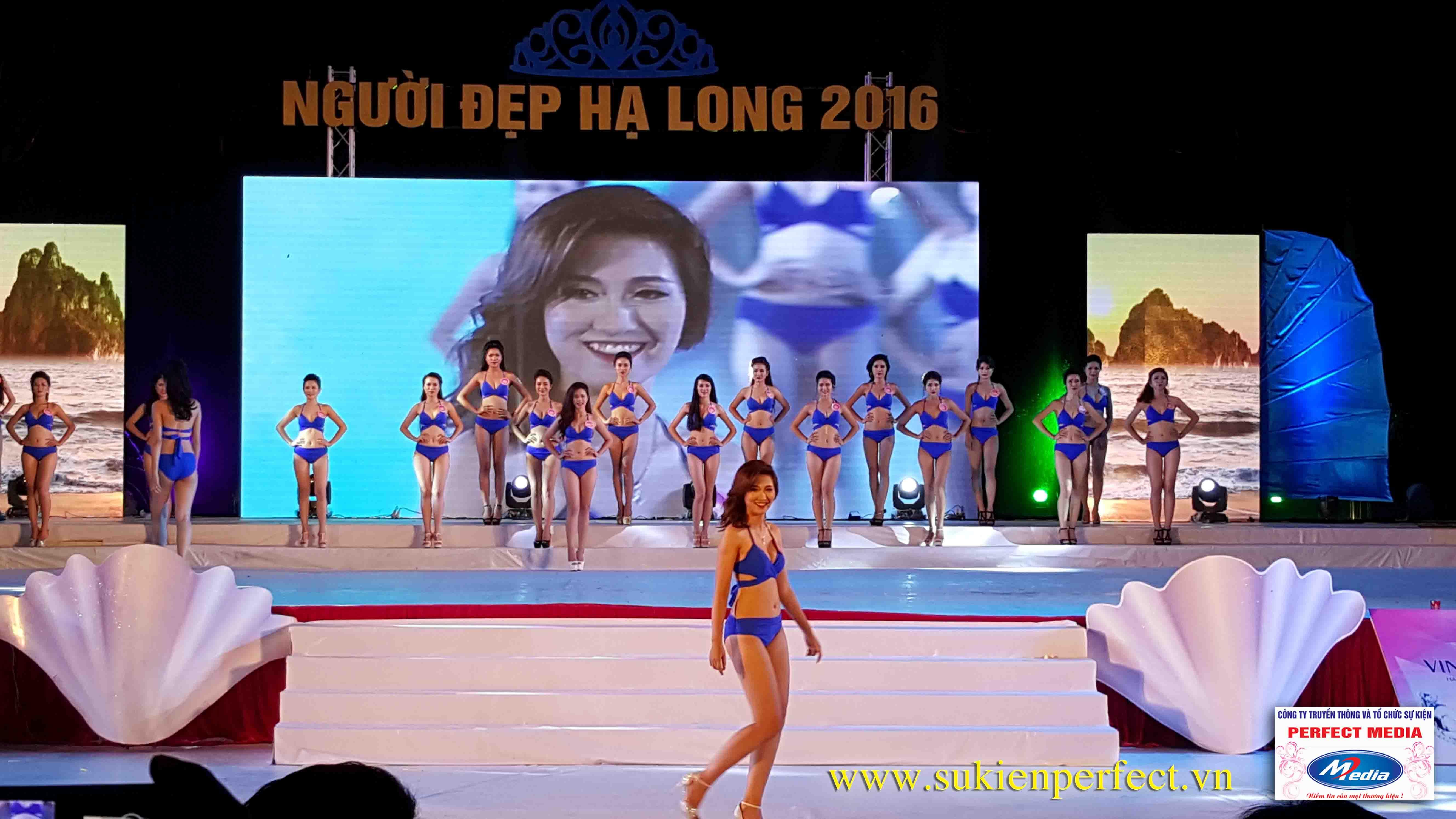 Hình ảnh các người đẹp trong chương trình Người đẹp Hạ Long 2016 – Bikini 12