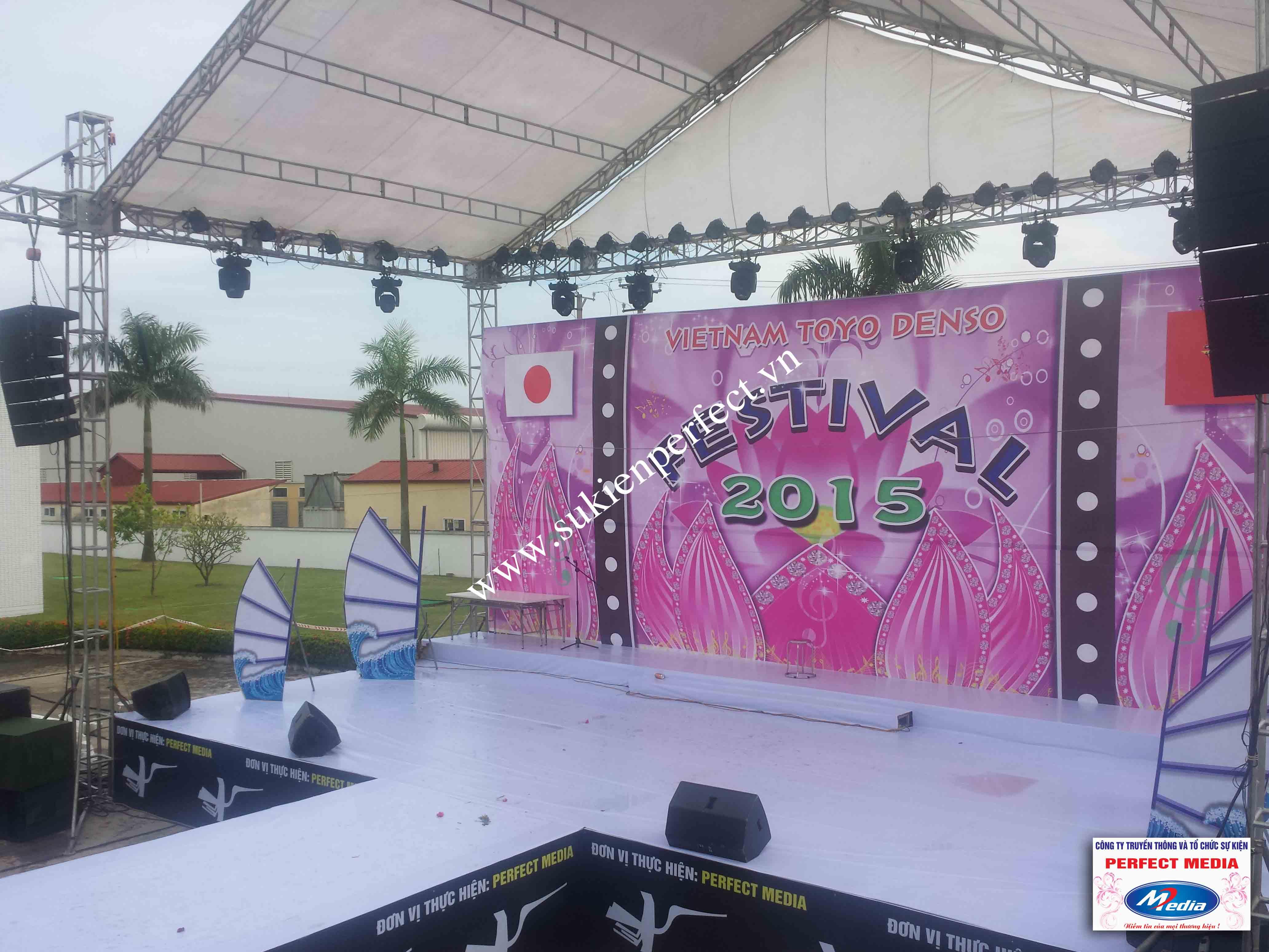 Hình ảnh trong sự kiện Festival Toyo Denso Việt Nam 2015 - 03