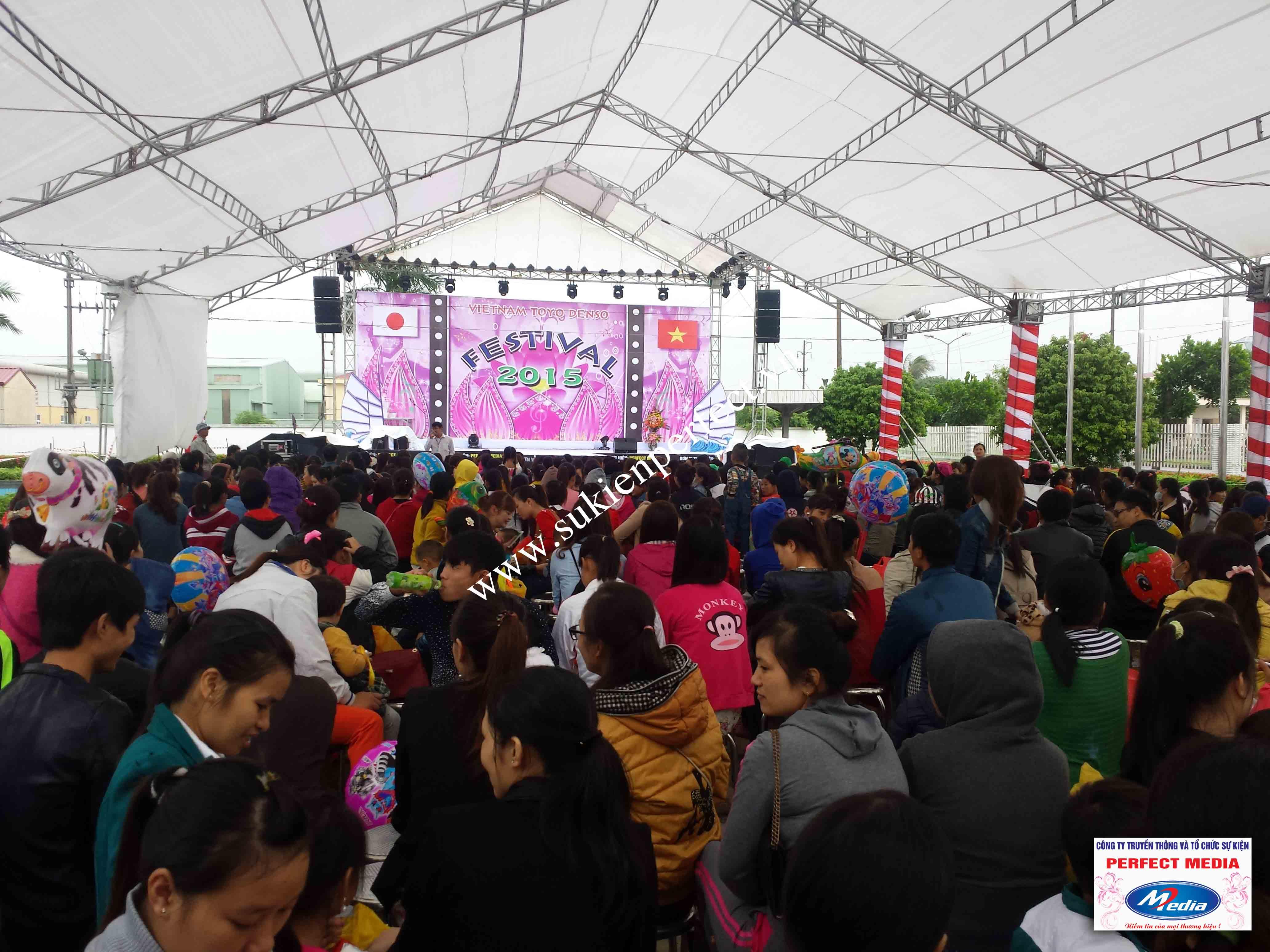 Hình ảnh trong sự kiện Festival Toyo Denso Việt Nam 2015 - 02