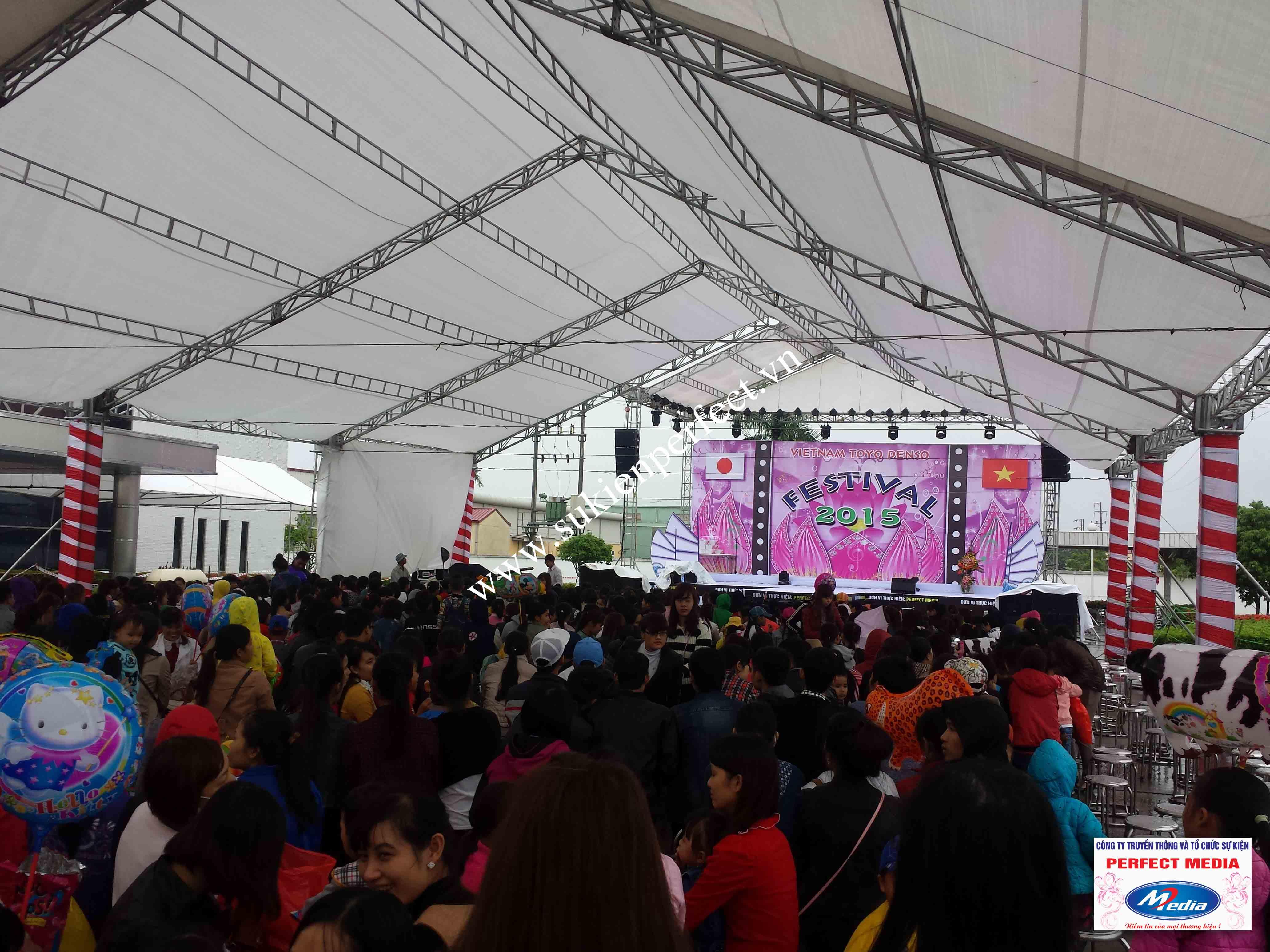Hình ảnh trong sự kiện Festival Toyo Denso Việt Nam 2015 - 01