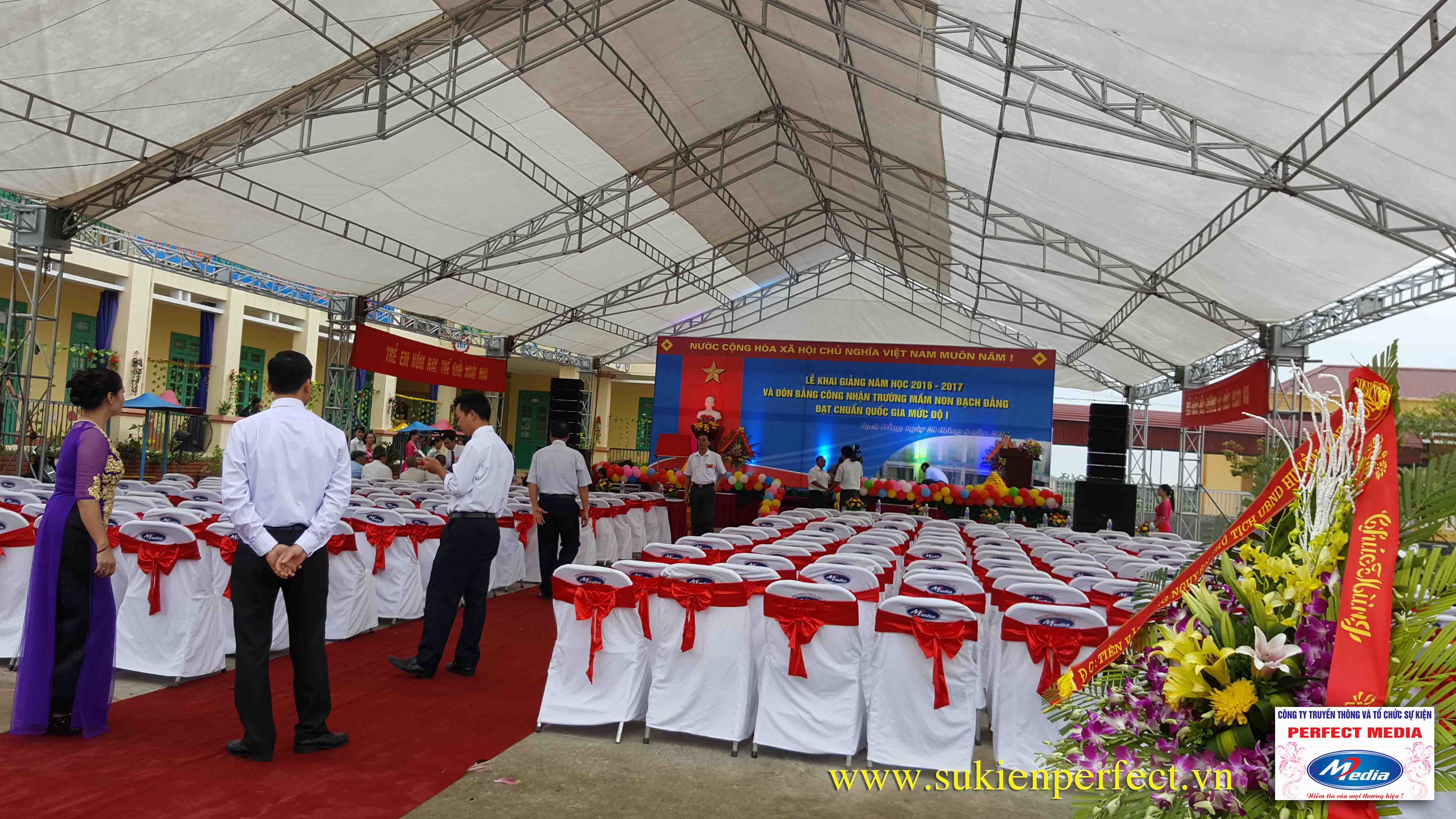 Lễ khai giảng năm học 2016 - 2017 của trường mầm non Bạch Đằng - Kinh Môn 01
