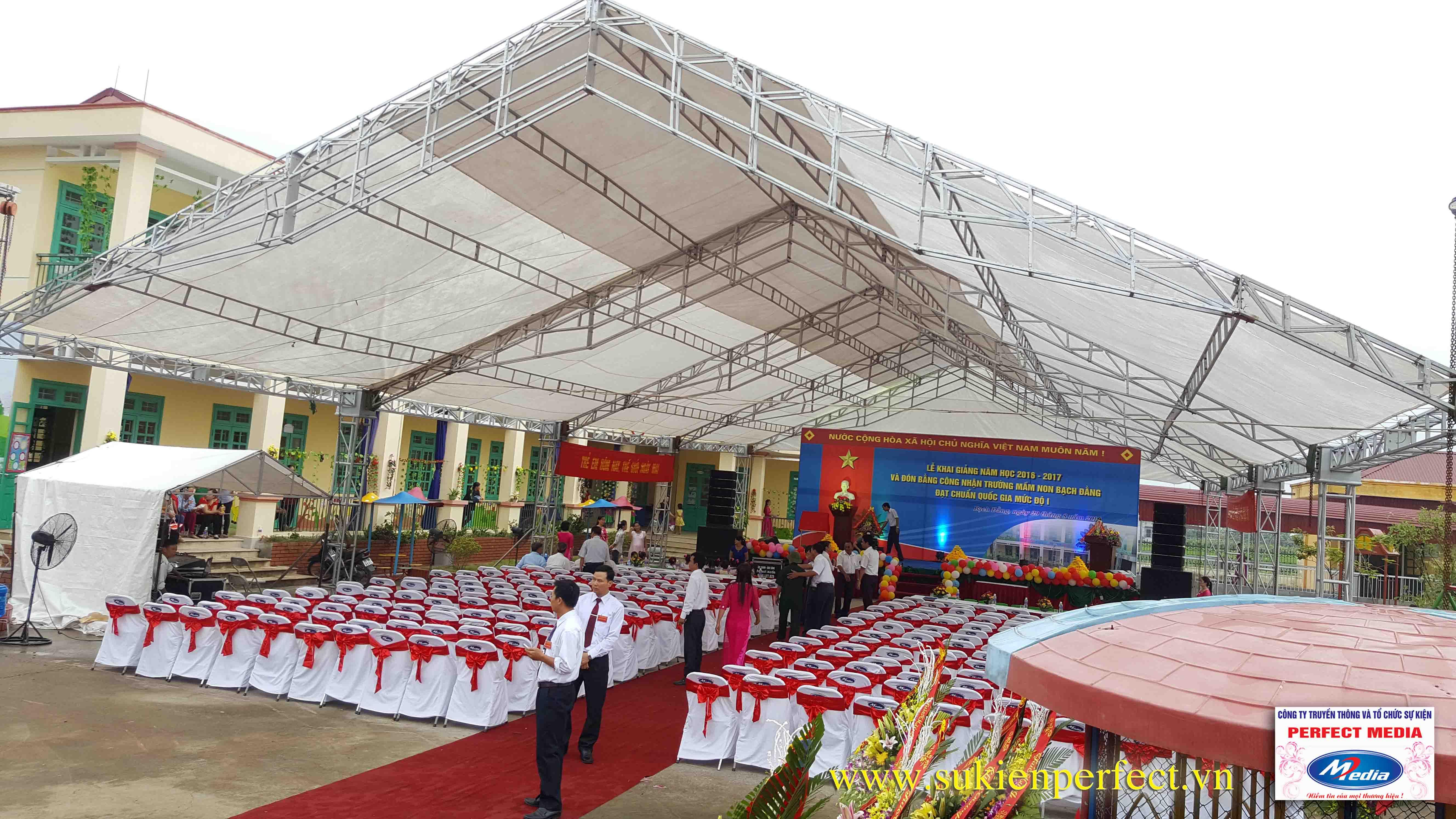 Lễ khai giảng năm học 2016 - 2017 của trường mầm non Bạch Đằng - Kinh Môn 02