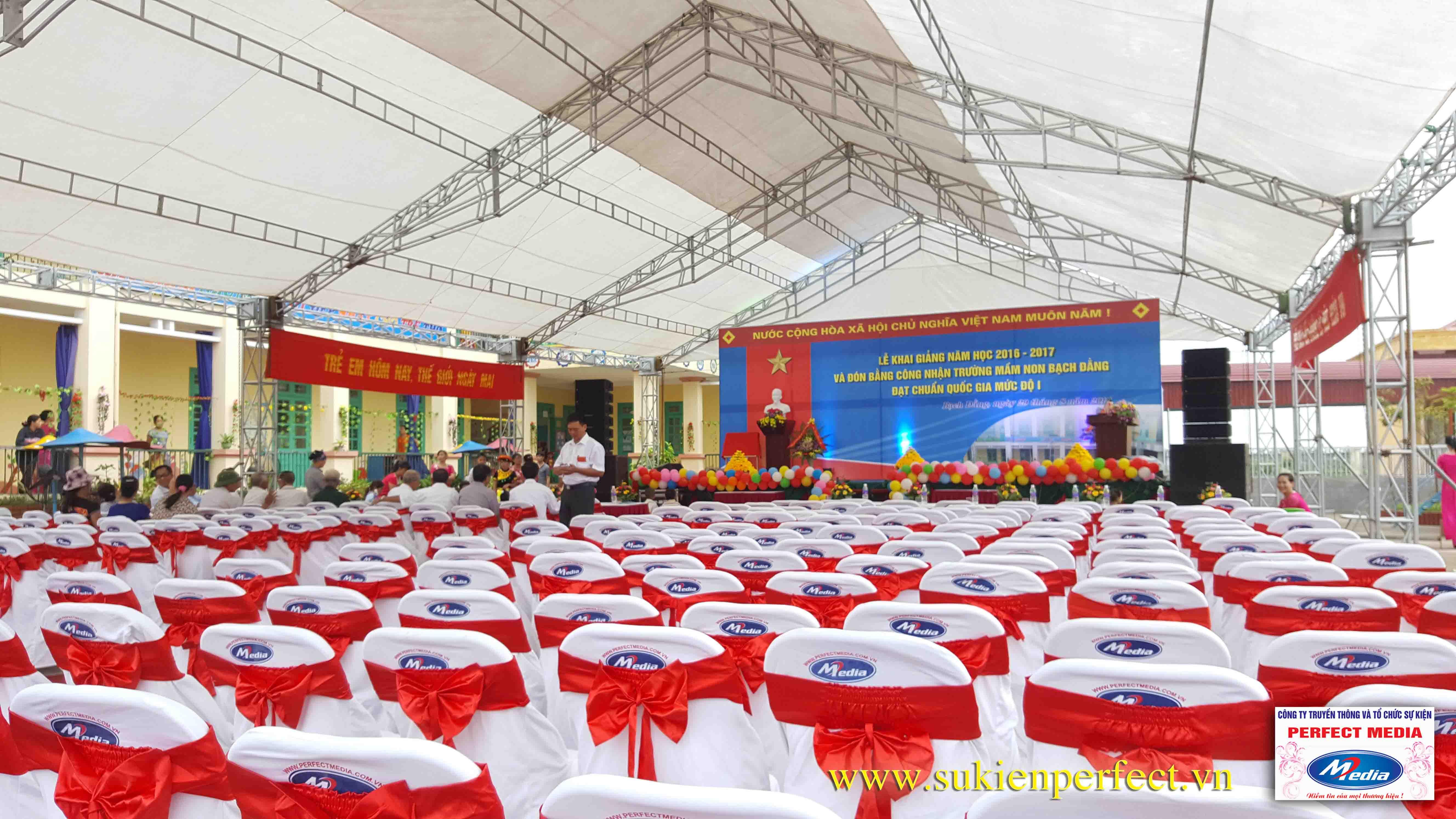 Lễ khai giảng năm học 2016 - 2017 của trường mầm non Bạch Đằng - Kinh Môn 04