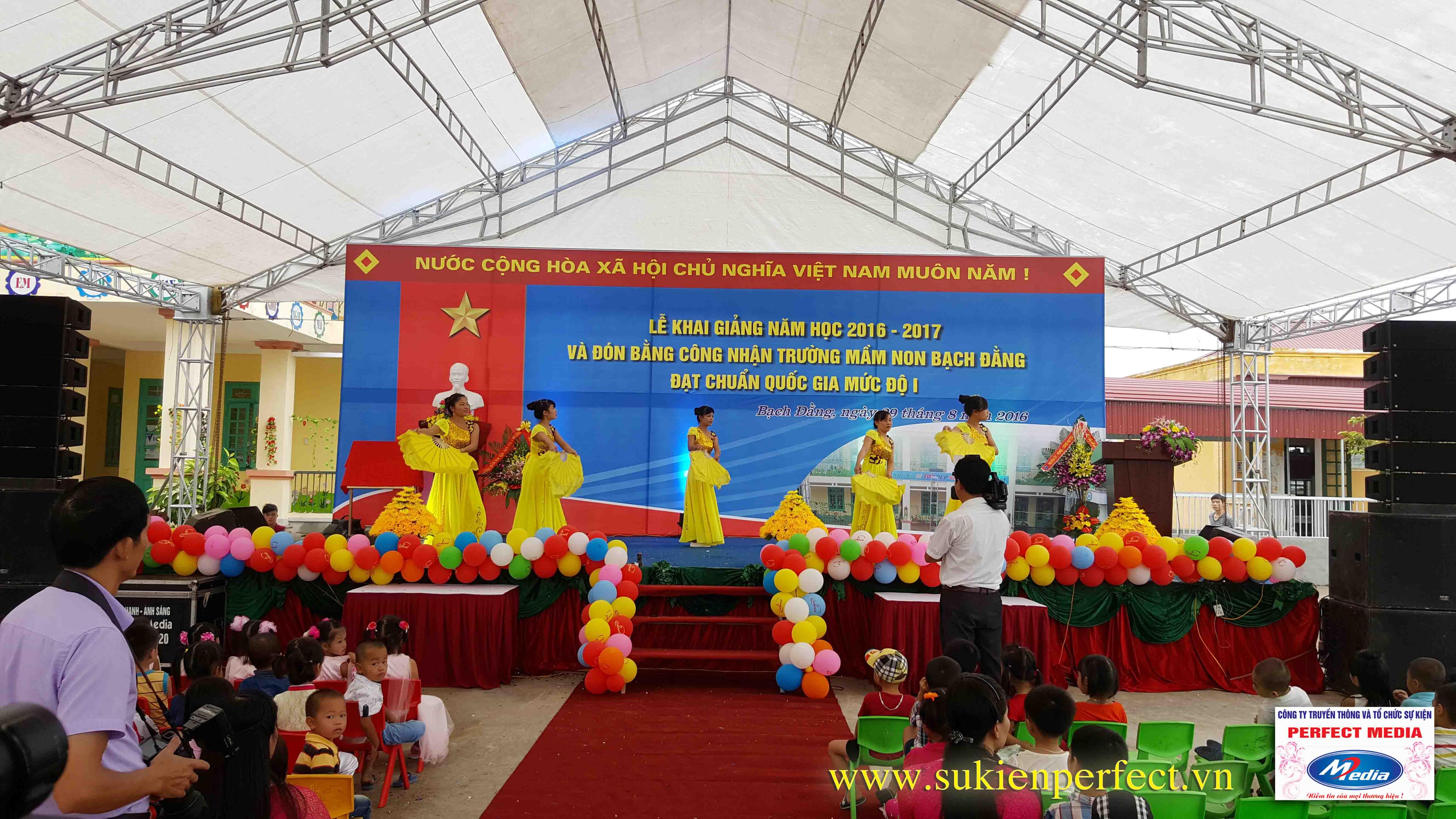 Lễ khai giảng năm học 2016 - 2017 của trường mầm non Bạch Đằng - Kinh Môn 05