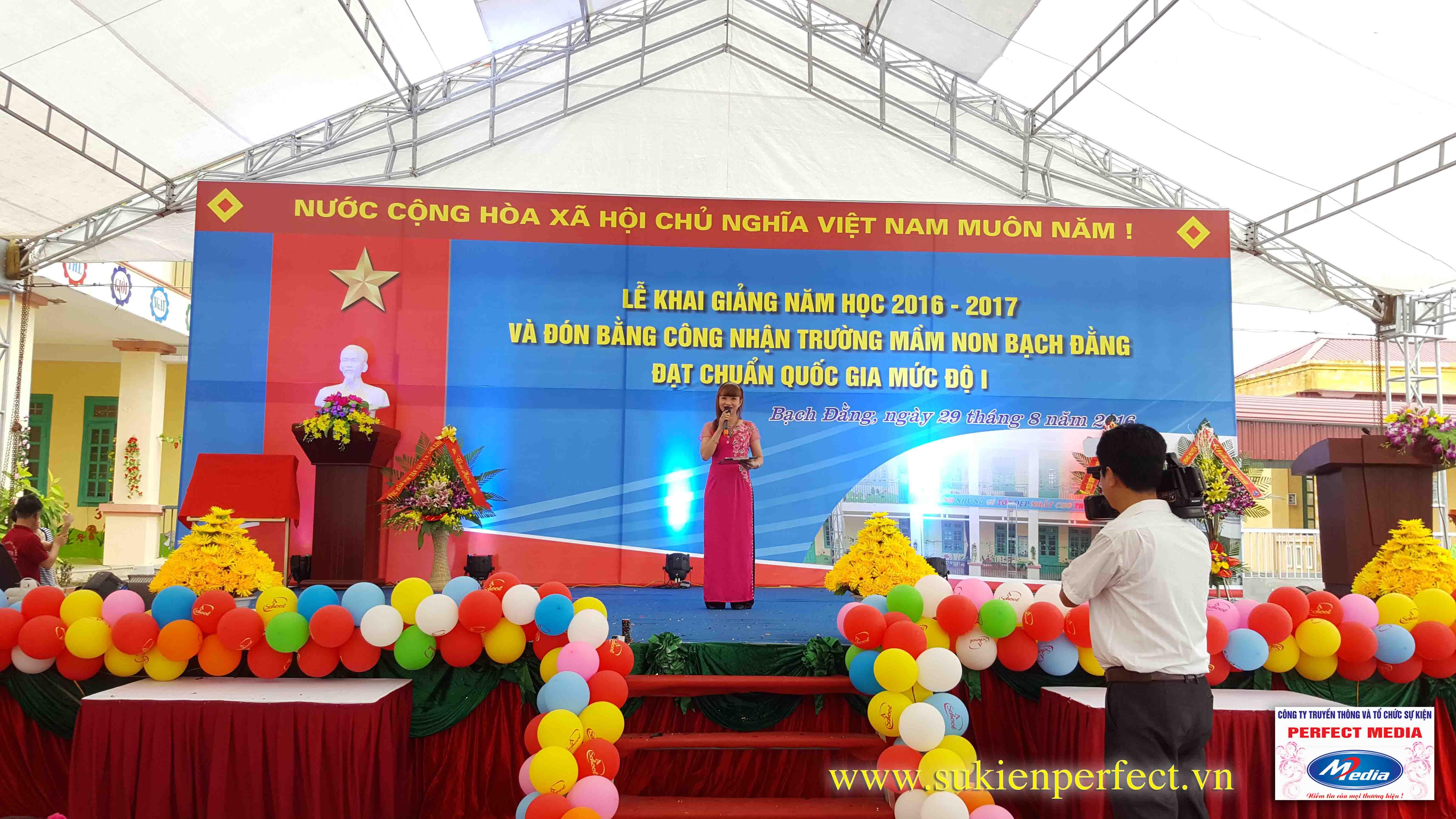 Lễ khai giảng năm học 2016 - 2017 của trường mầm non Bạch Đằng - Kinh Môn 06