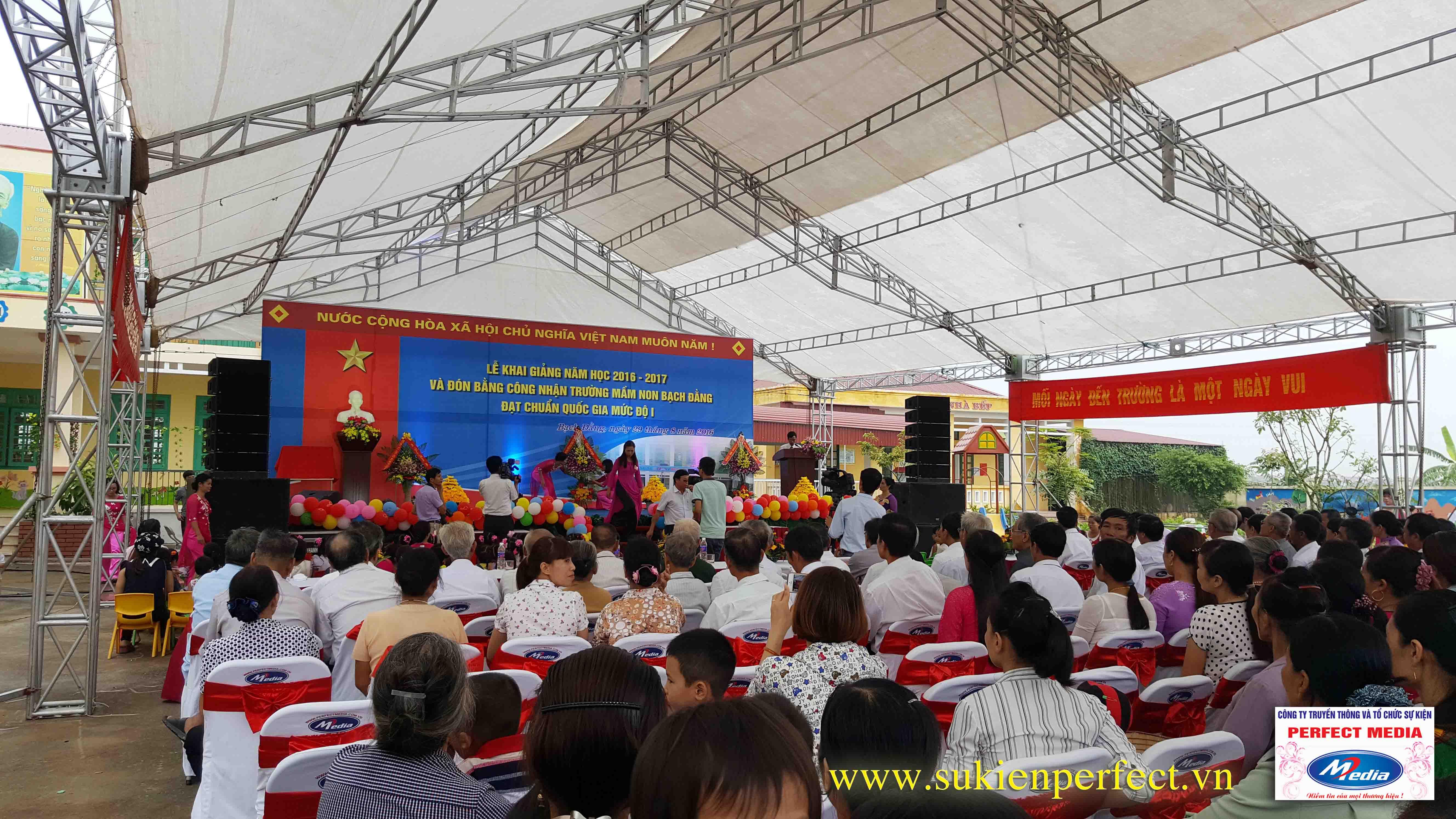 Lễ khai giảng năm học 2016 - 2017 của trường mầm non Bạch Đằng - Kinh Môn 07