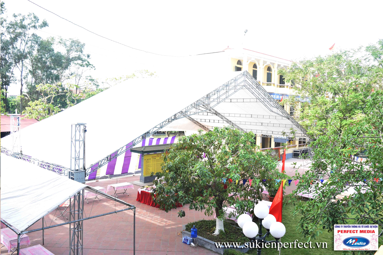 Nhà giàn không gian sự kiện