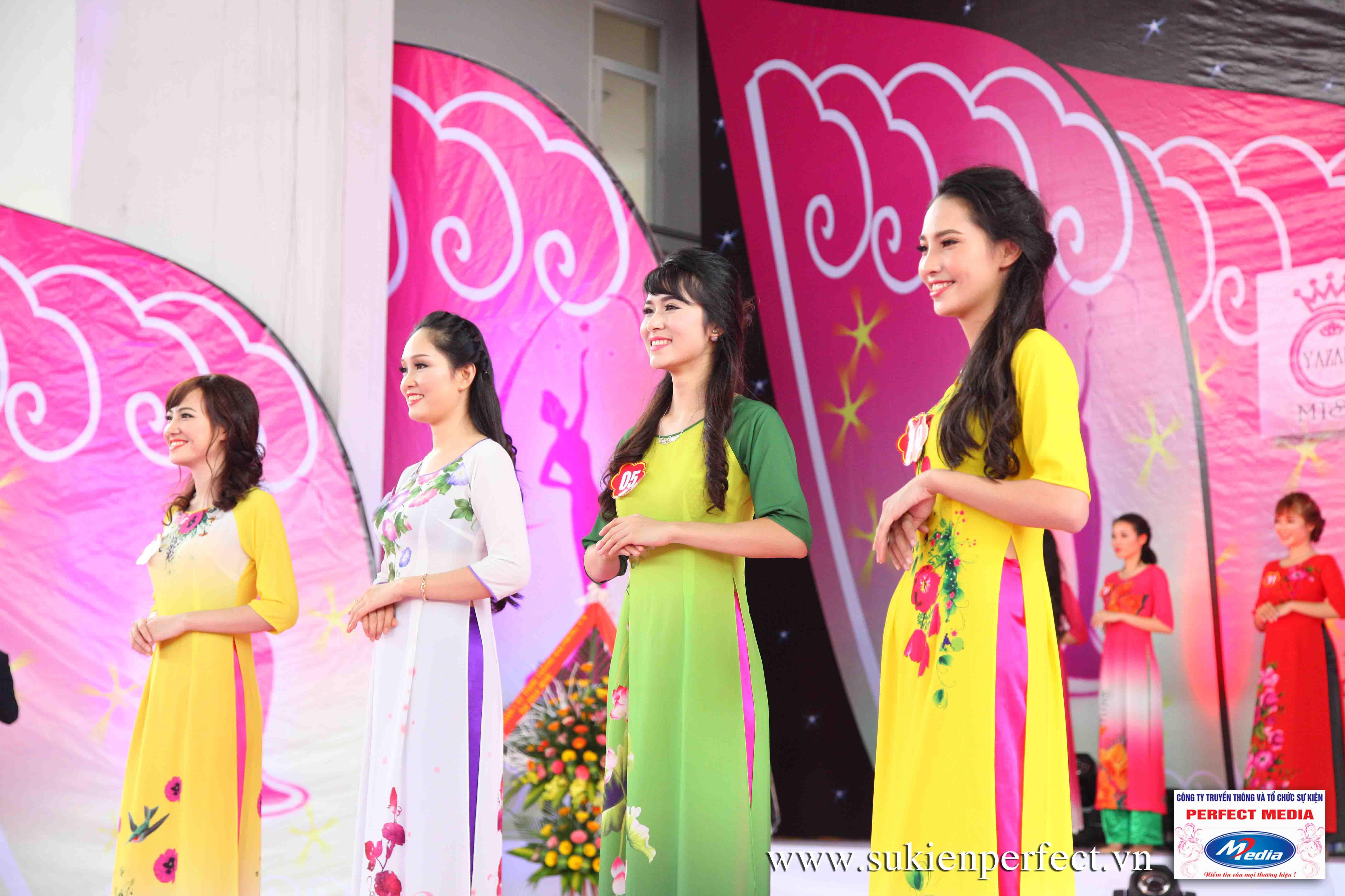 Hình ảnh các người đẹp trong sự kiện Người đẹp Yazaki Quảng Ninh 2016 (Màn đăng quang) - 01