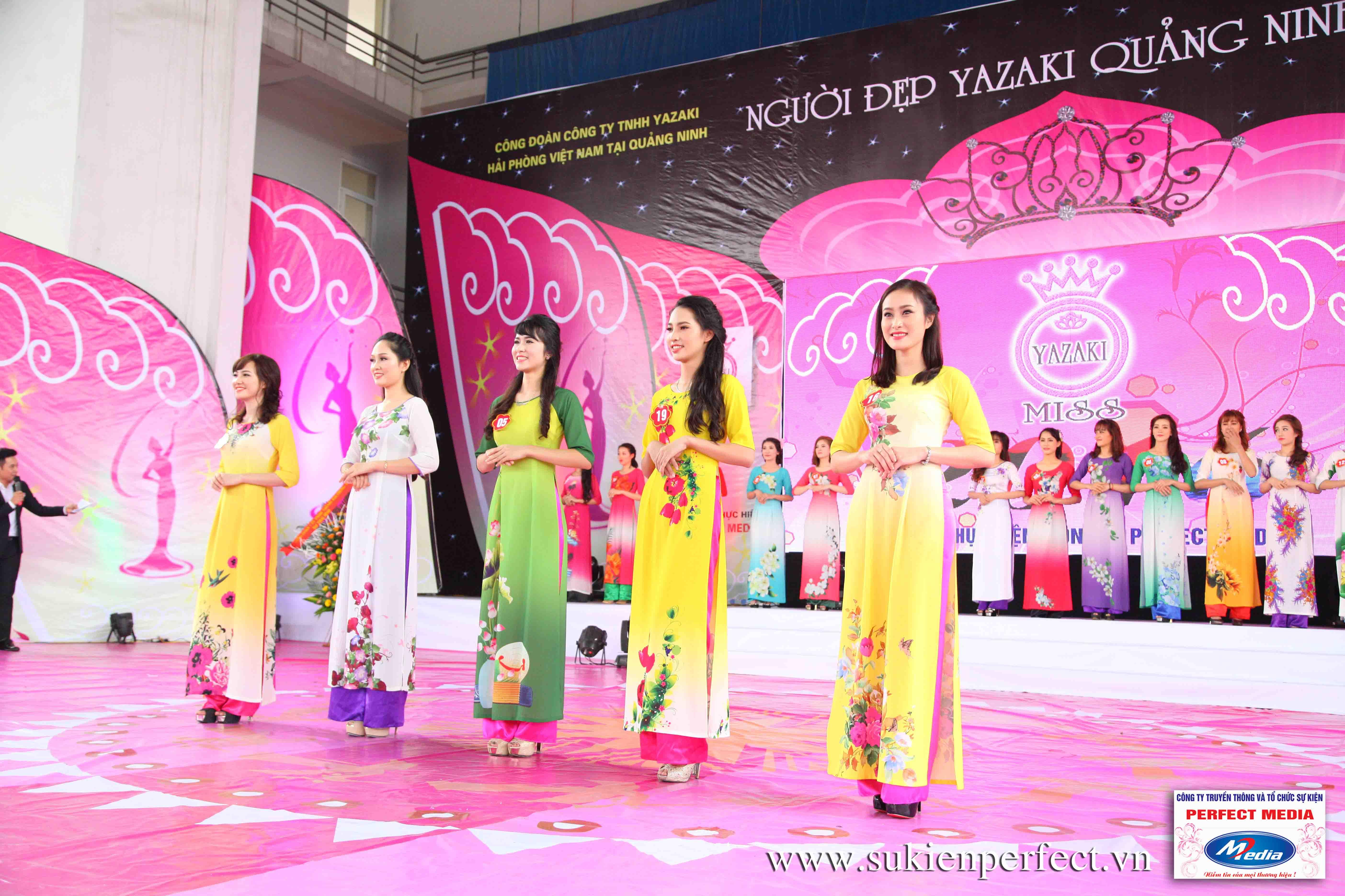 Hình ảnh các người đẹp trong sự kiện Người đẹp Yazaki Quảng Ninh 2016 (Màn đăng quang) - 04