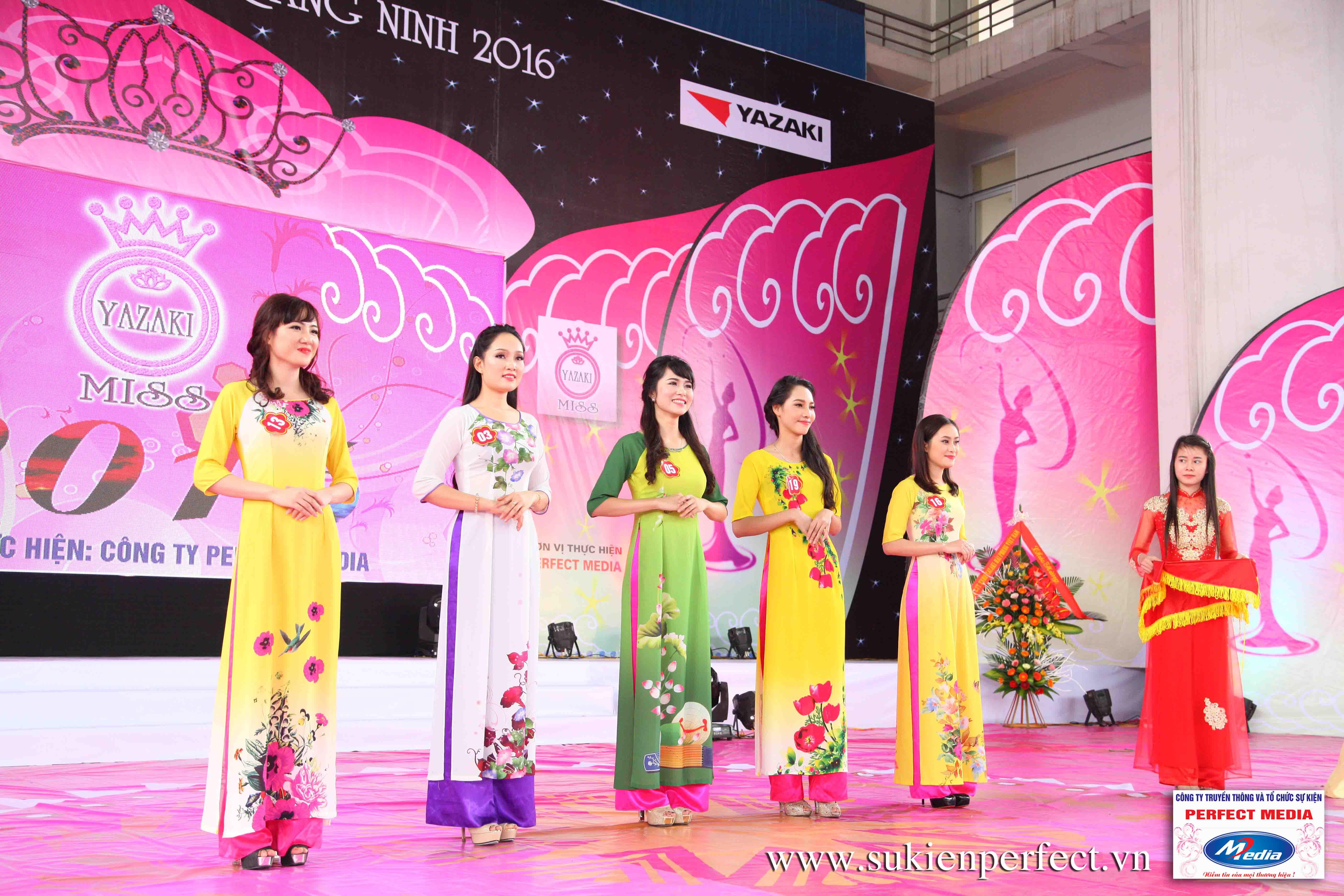 Hình ảnh các người đẹp trong sự kiện Người đẹp Yazaki Quảng Ninh 2016 (Màn đăng quang) - 06