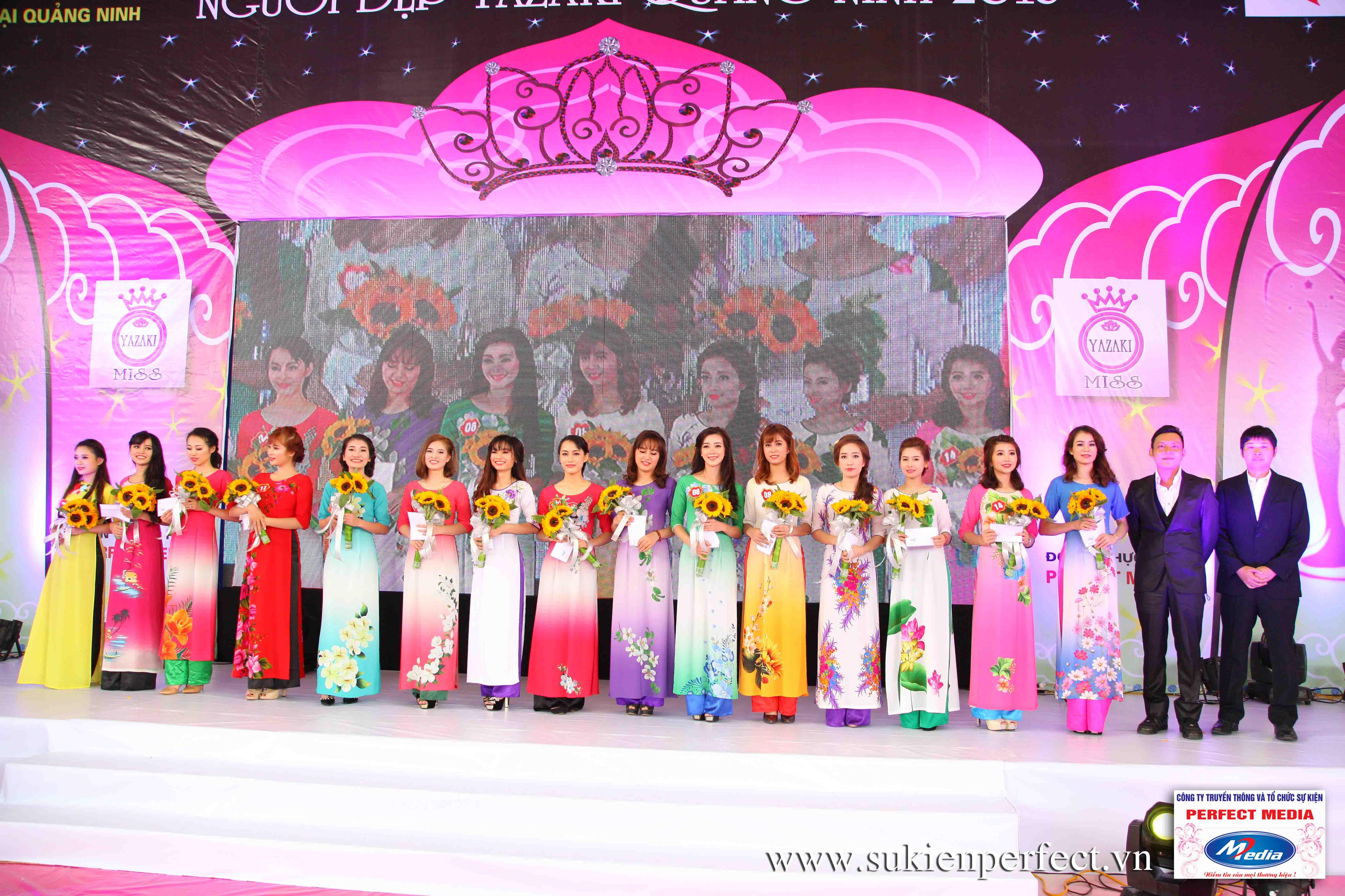 Hình ảnh các người đẹp trong sự kiện Người đẹp Yazaki Quảng Ninh 2016 (Màn đăng quang) - 08