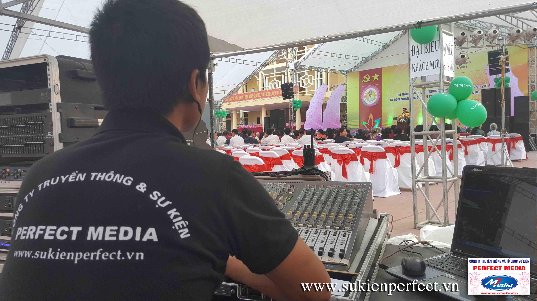 Bộ phận âm thanh, ánh sáng của chương trình - Công ty tổ chức sự kiện Perfect Media