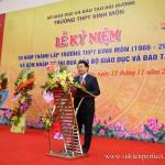 Lễ kỷ niệm 50 năm thành lập trường THPT Kinh Môn