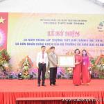 Lễ kỷ niệm 55 năm thành lập trường THPT Kim Thành