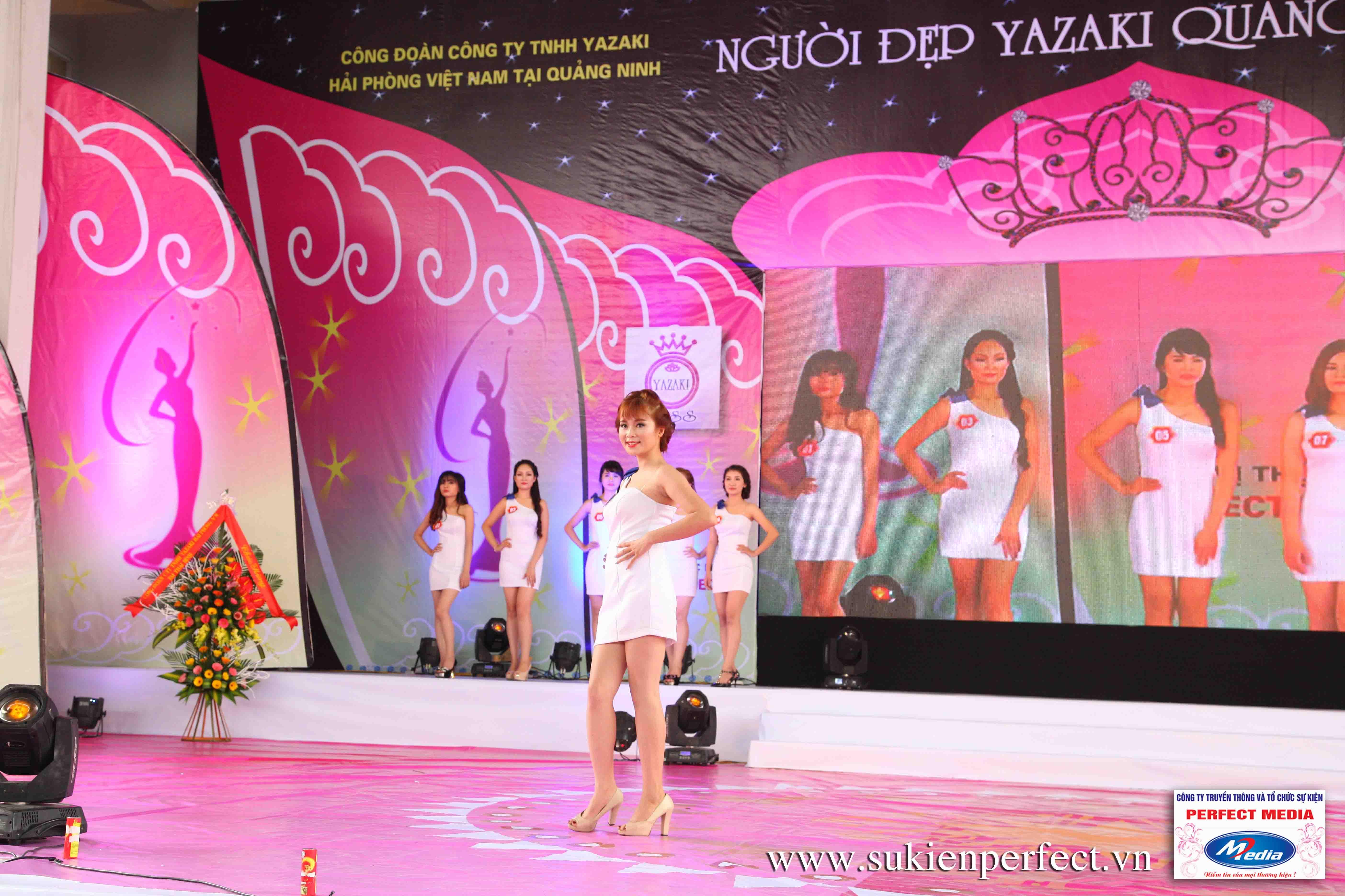 Hình ảnh các thí sinh trong cuộc thi Người đẹp Yazaki Quảng Ninh 2016 (Hình thể) 05
