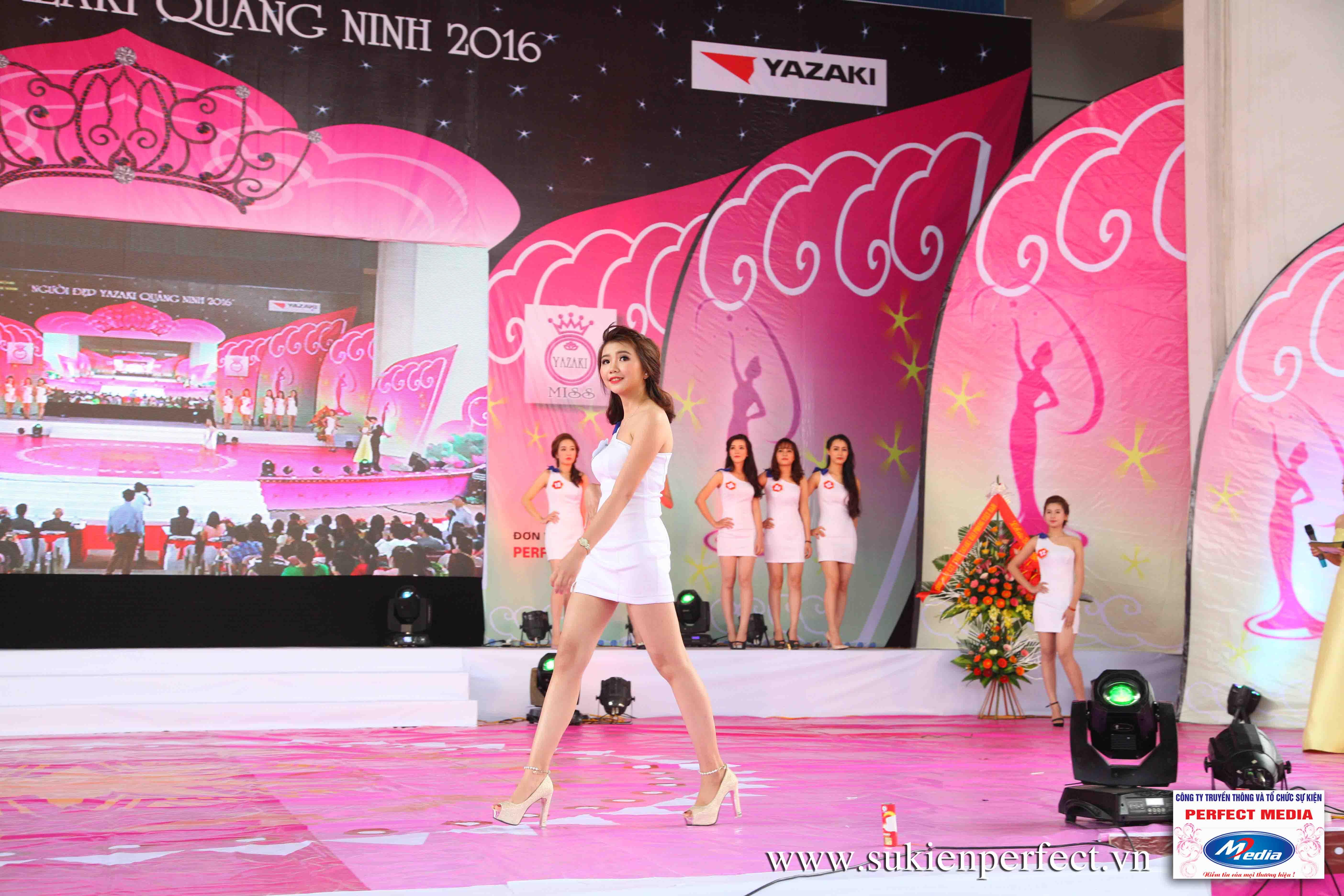 Hình ảnh các thí sinh trong cuộc thi Người đẹp Yazaki Quảng Ninh 2016 (Hình thể) 06