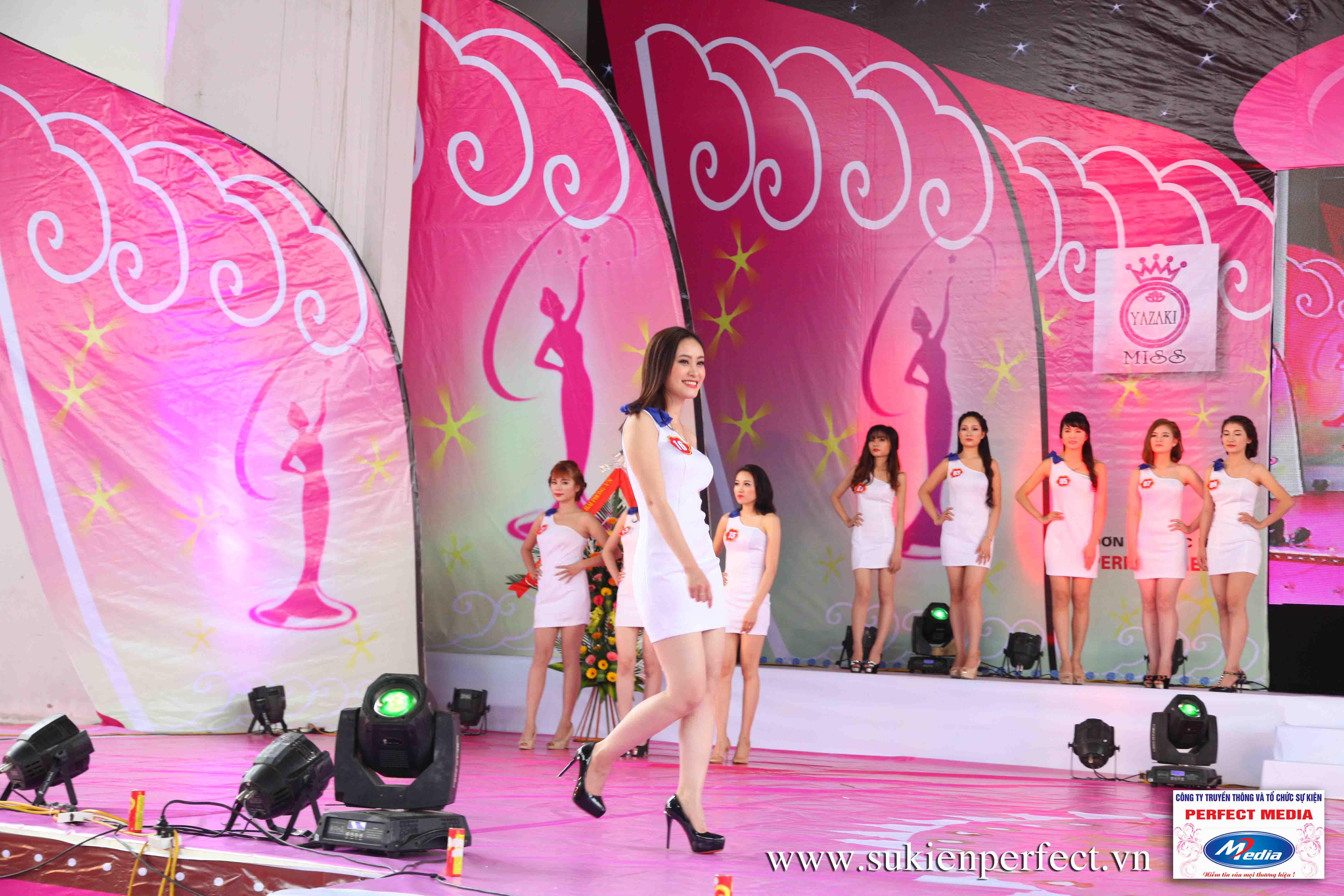 Hình ảnh các thí sinh trong cuộc thi Người đẹp Yazaki Quảng Ninh 2016 (Hình thể) 07