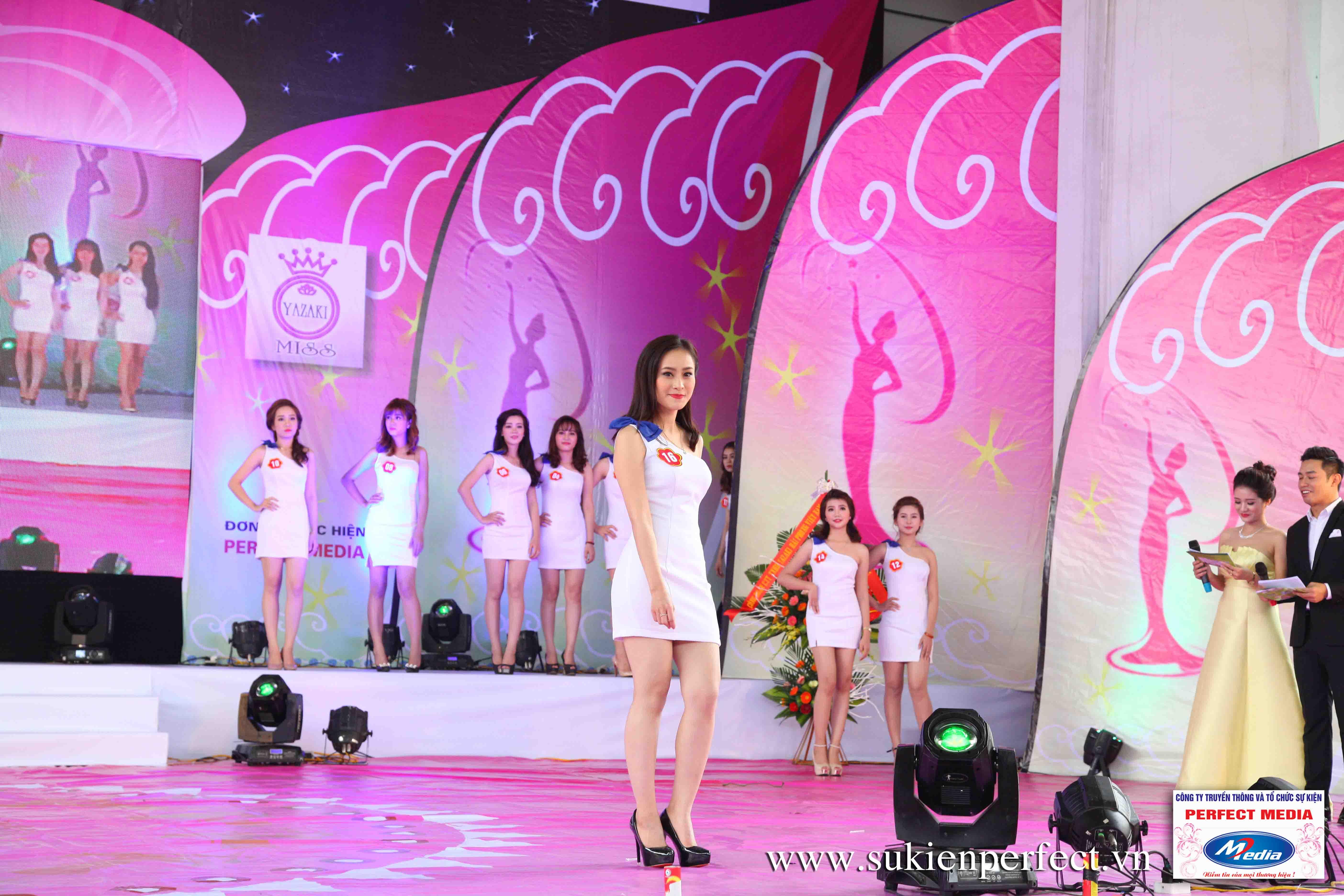 Hình ảnh các thí sinh trong cuộc thi Người đẹp Yazaki Quảng Ninh 2016 (Hình thể) 08