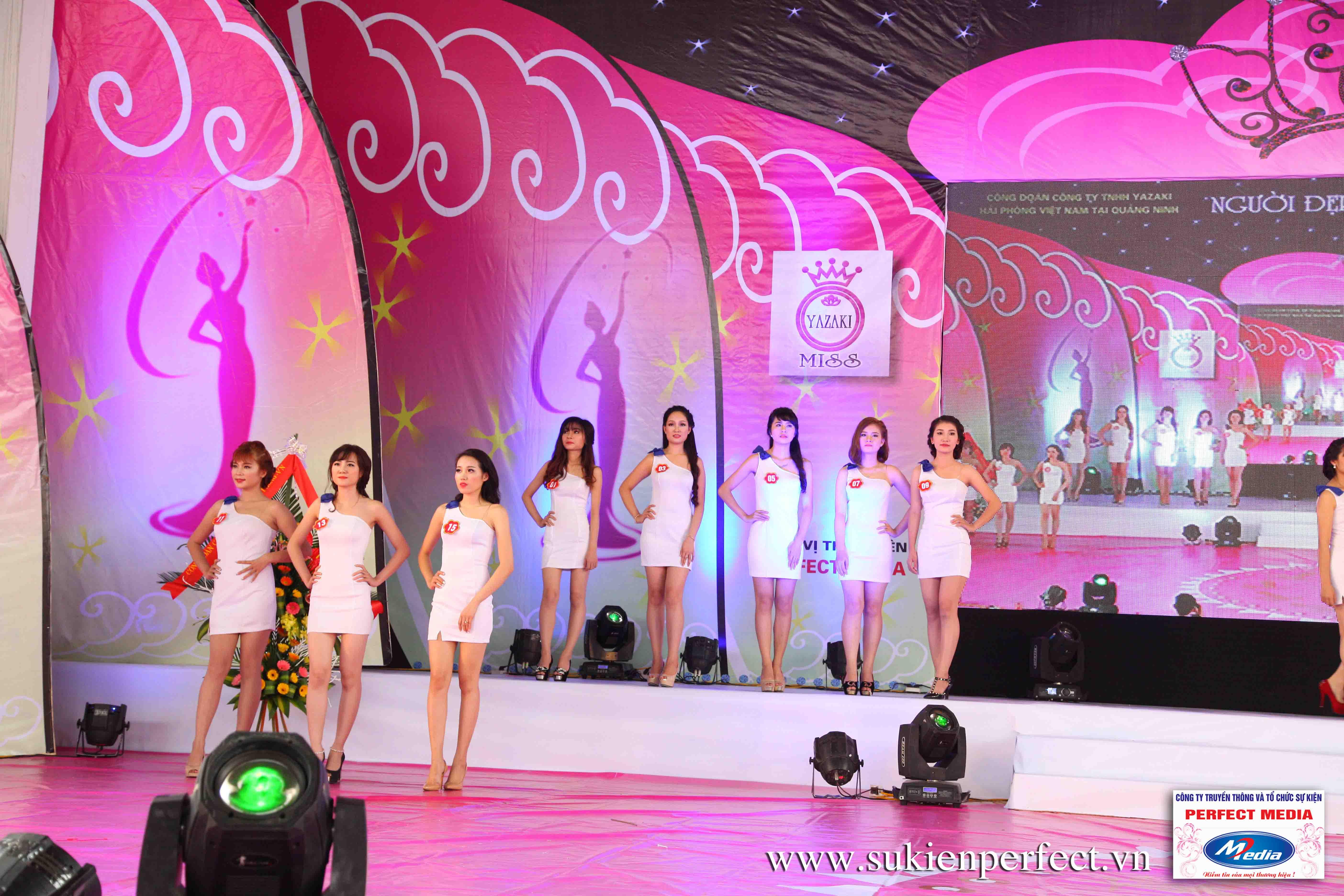 Hình ảnh các thí sinh trong cuộc thi Người đẹp Yazaki Quảng Ninh 2016 (Hình thể) - 09