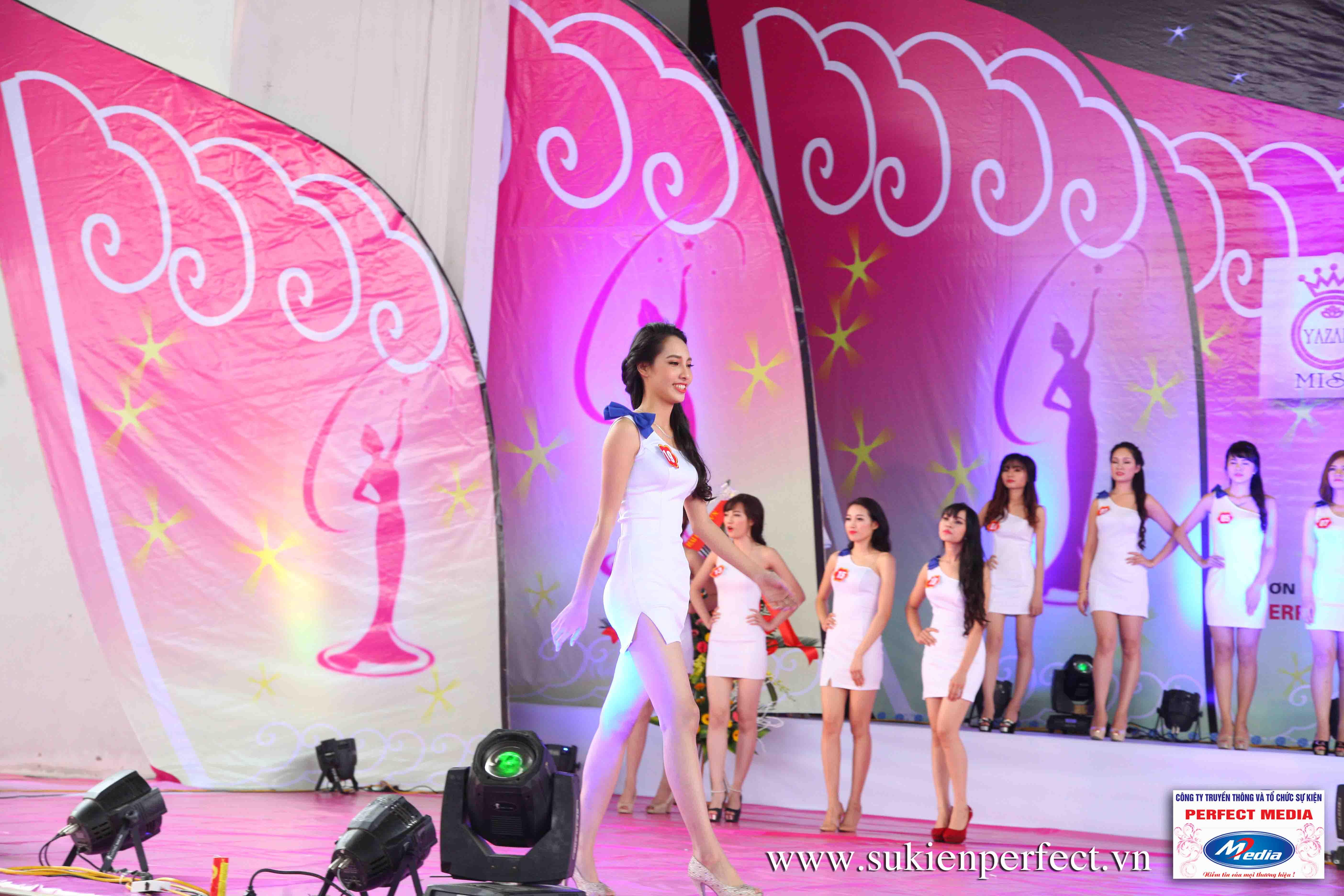 Hình ảnh các thí sinh trong cuộc thi Người đẹp Yazaki Quảng Ninh 2016 (Hình thể) - 11