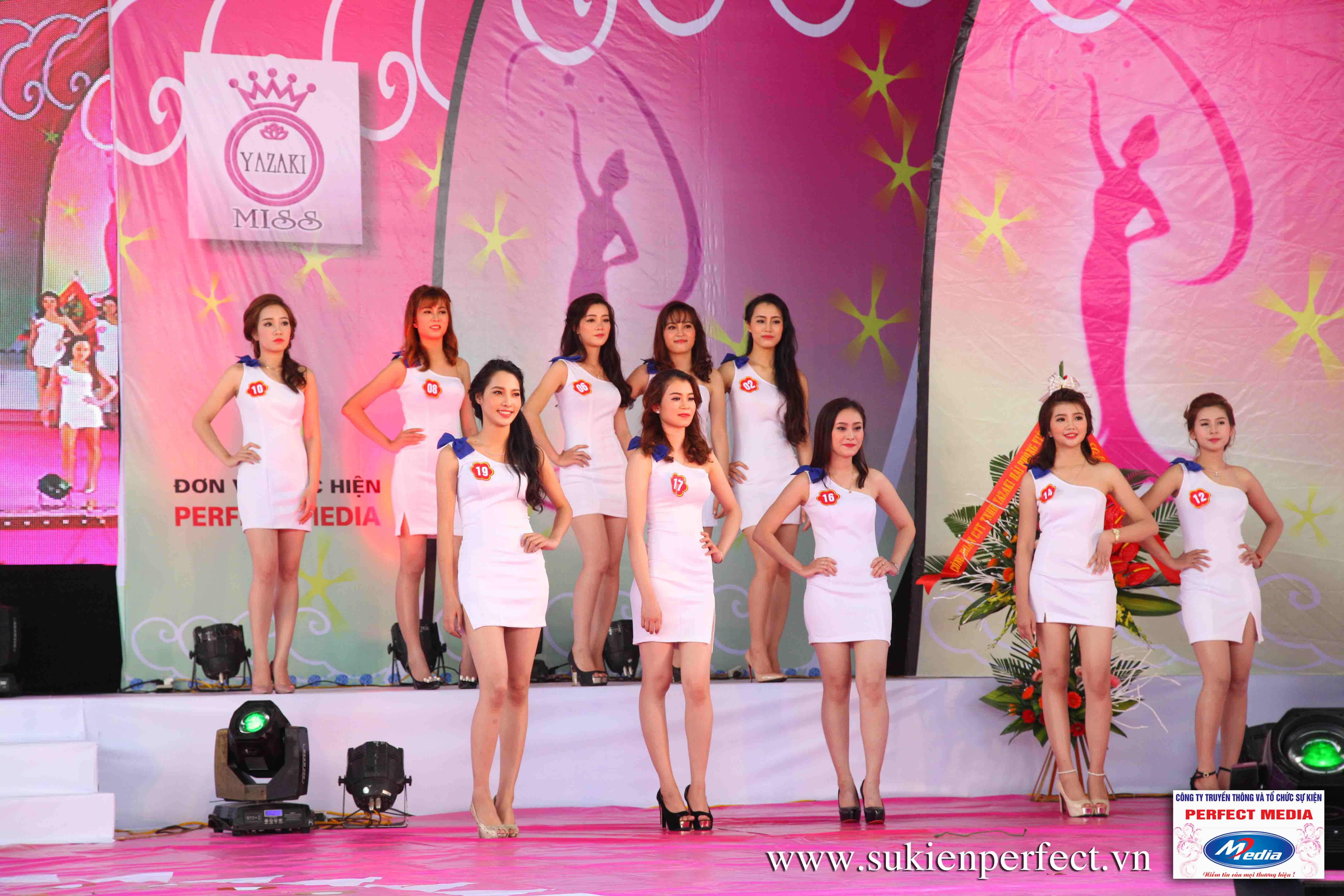 Hình ảnh các thí sinh trong cuộc thi Người đẹp Yazaki Quảng Ninh 2016 (Hình thể) - 12