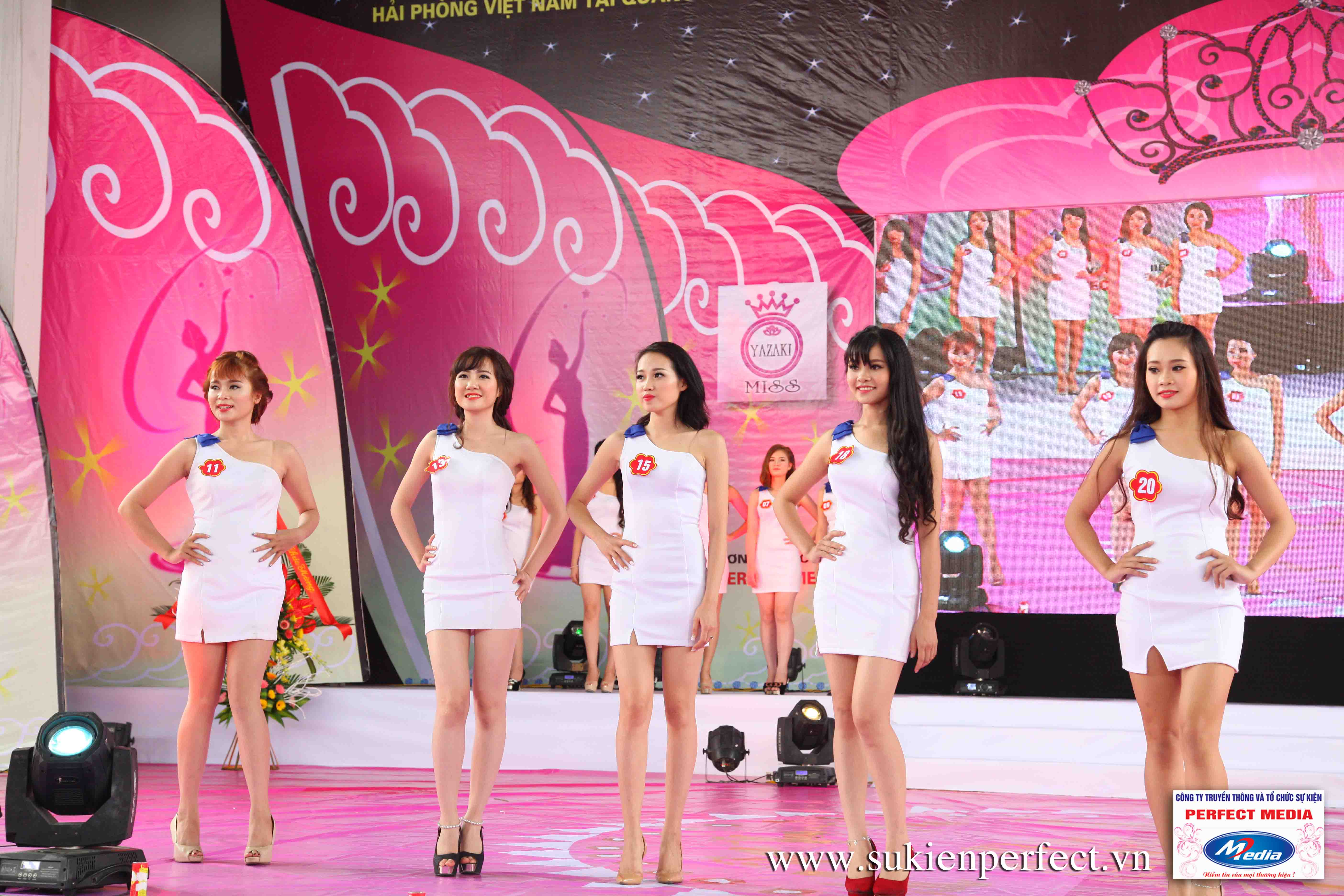 Hình ảnh các thí sinh trong cuộc thi Người đẹp Yazaki Quảng Ninh 2016 (Hình thể) - 13