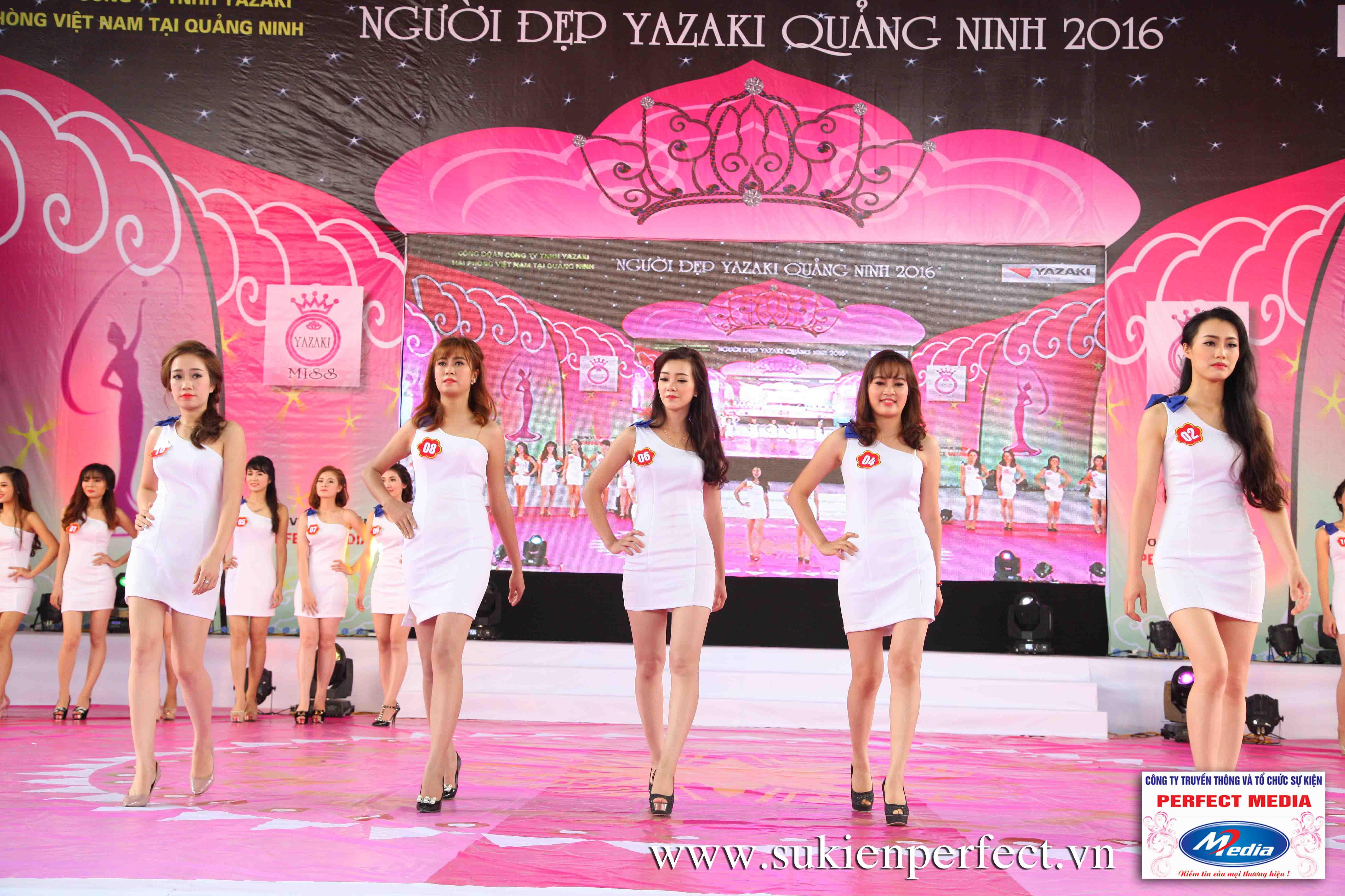 Hình ảnh các thí sinh trong cuộc thi Người đẹp Yazaki Quảng Ninh 2016 (Hình thể) - 14