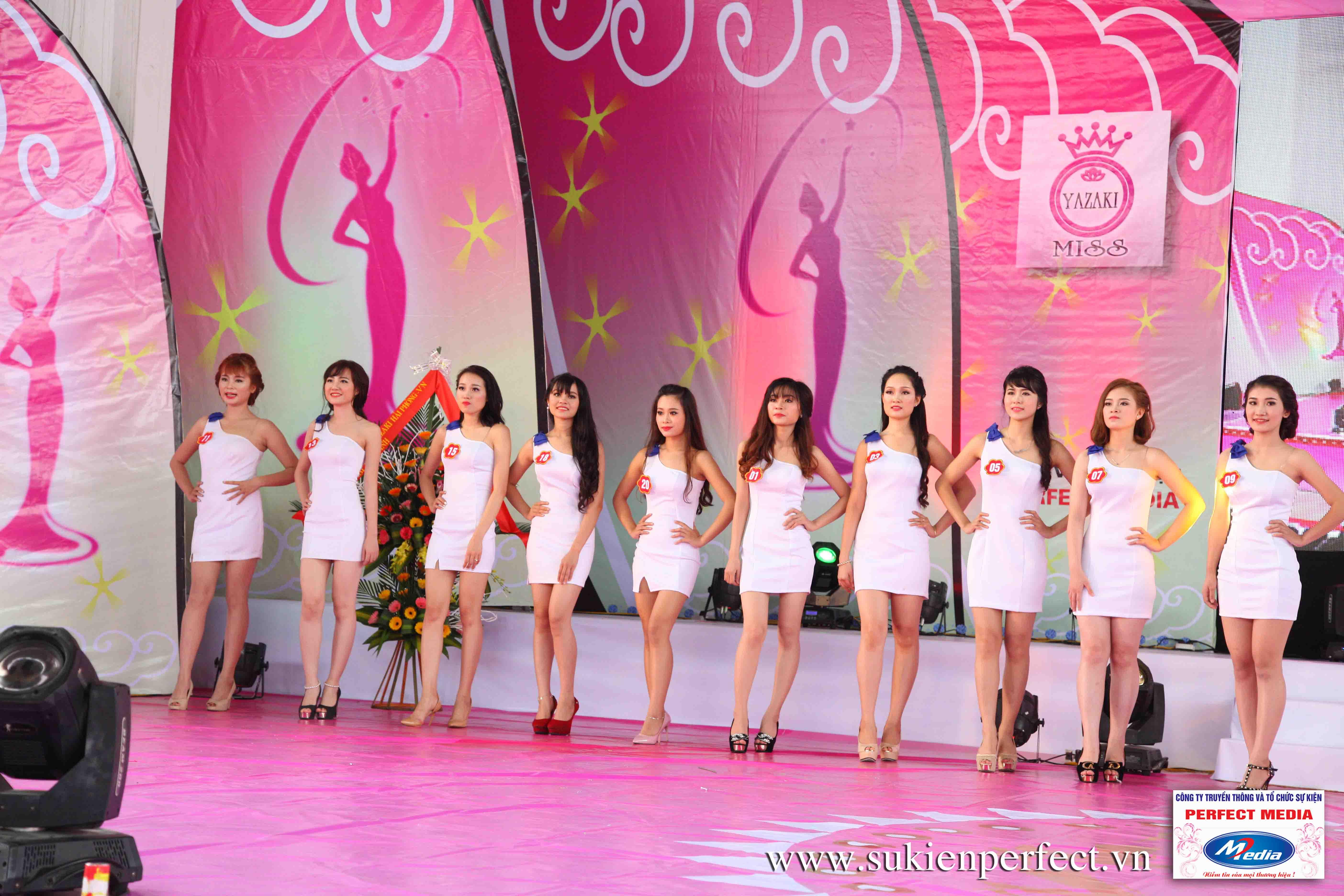 Hình ảnh các thí sinh trong cuộc thi Người đẹp Yazaki Quảng Ninh 2016 (Hình thể) - 16