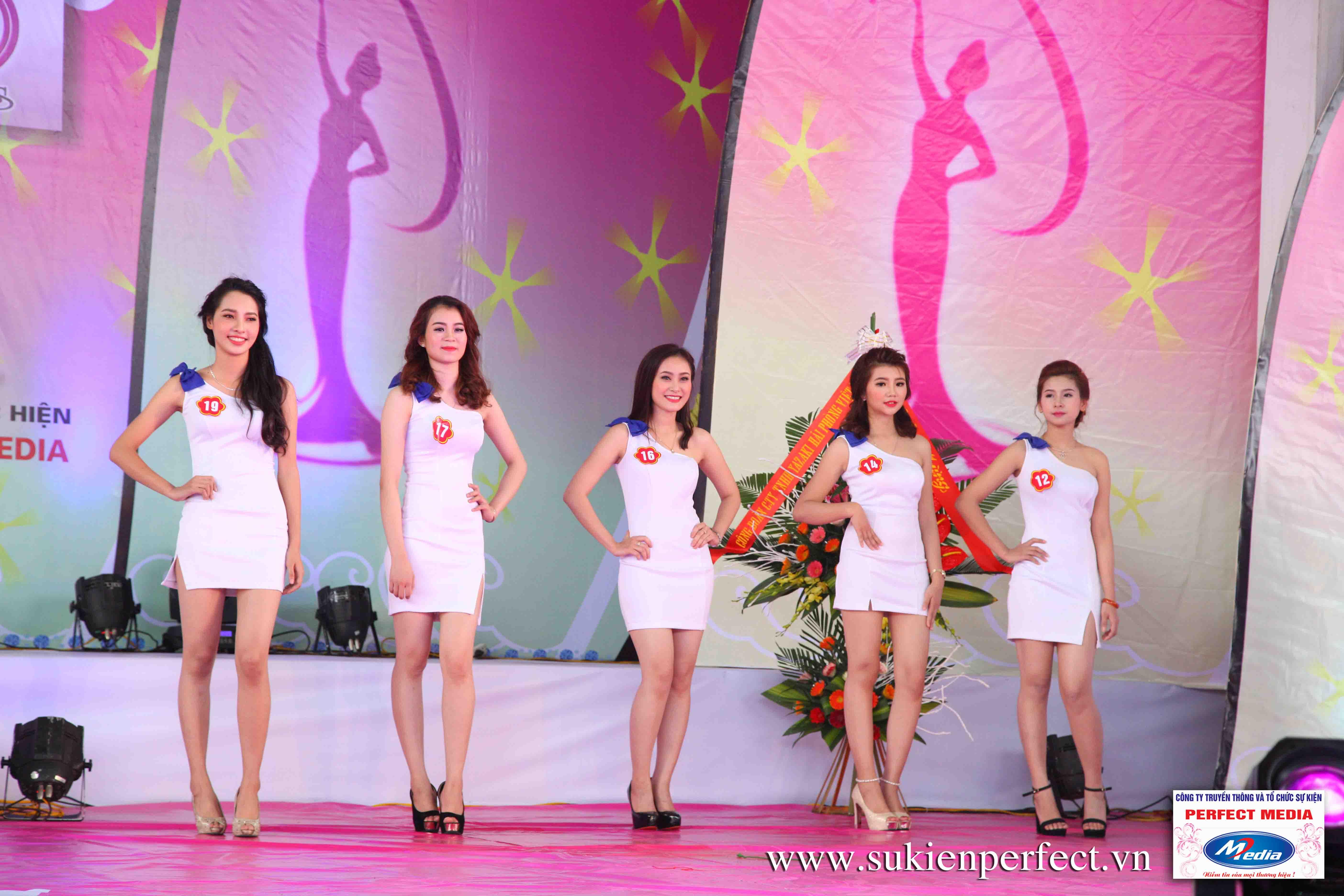 Hình ảnh các thí sinh trong cuộc thi Người đẹp Yazaki Quảng Ninh 2016 (Hình thể) - 17